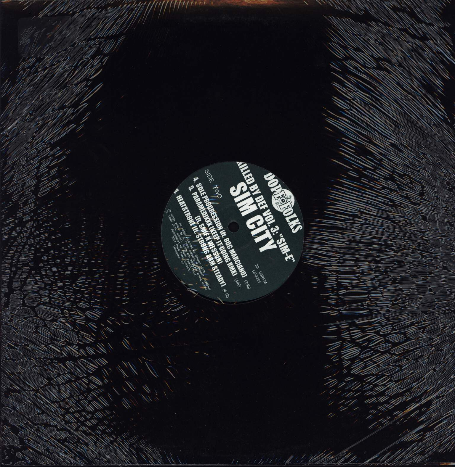 "School Dayze: Killed By Def Vol. 3: ""Sim-E"", 12"" Maxi Single (Vinyl)"