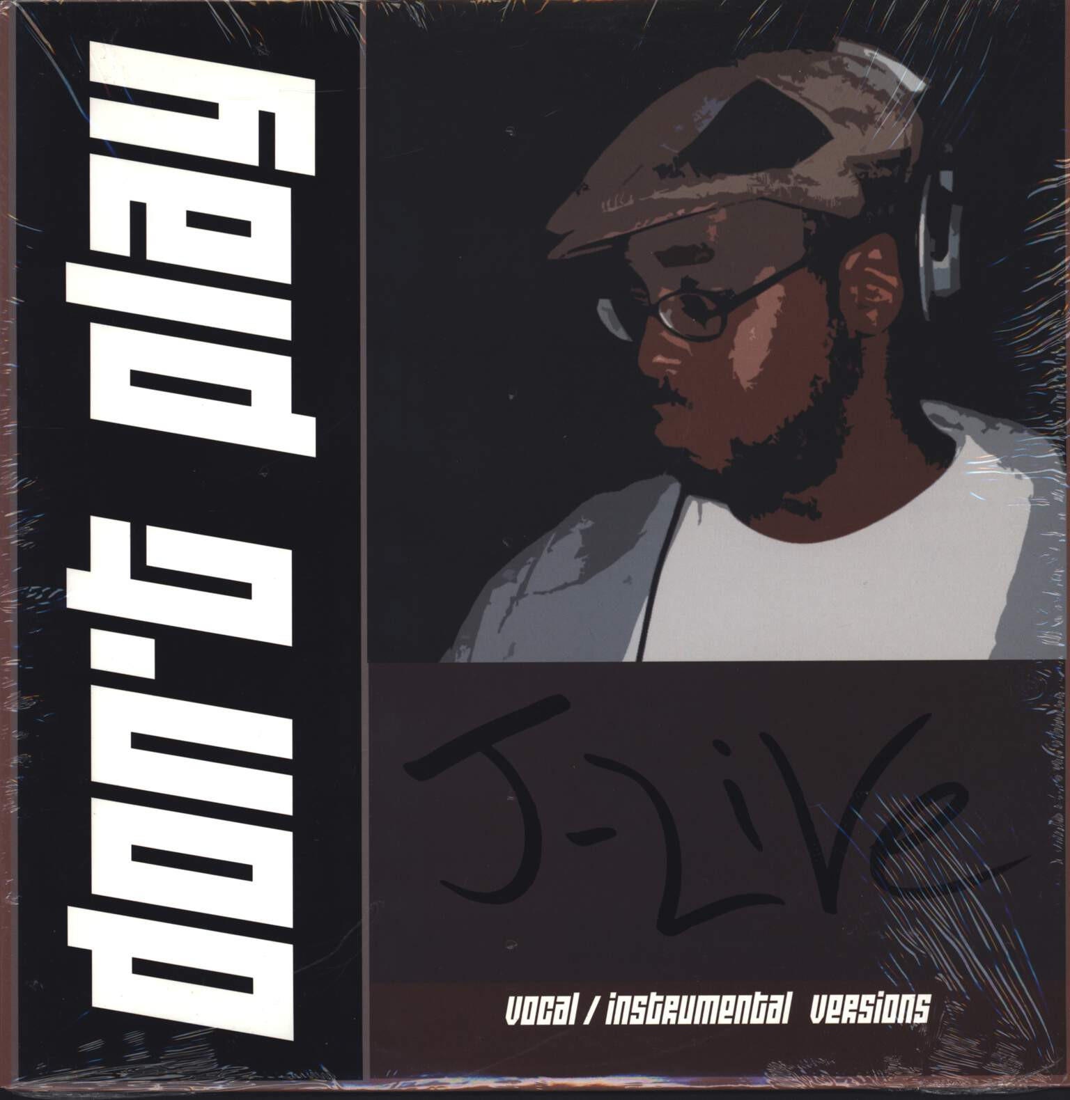 "J-Live: Don't Play, 12"" Maxi Single (Vinyl)"