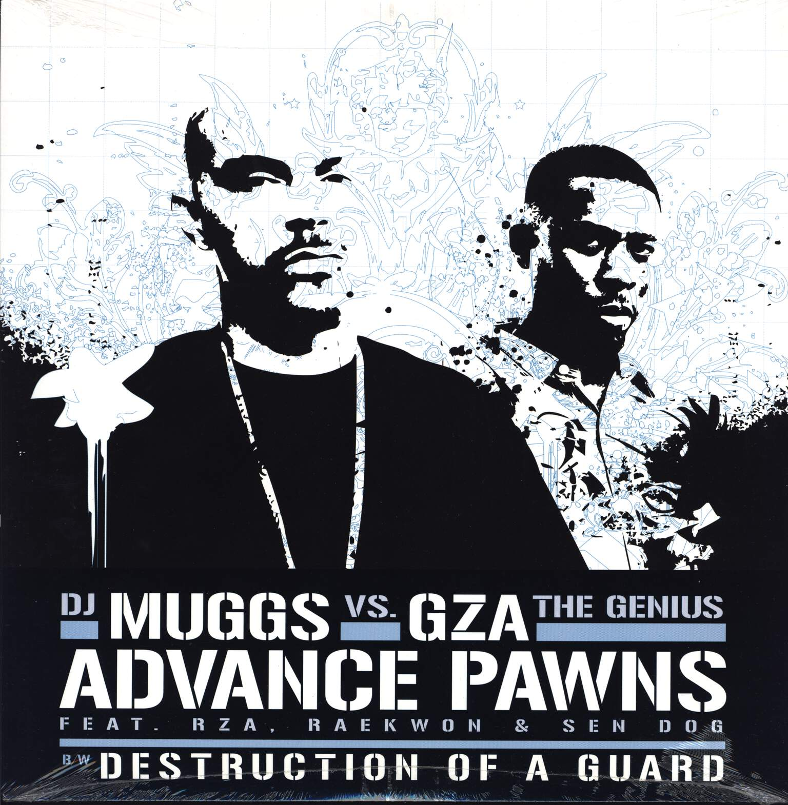 "DJ Muggs: Advance Pawns / Destruction Of A Guard, 12"" Maxi Single (Vinyl)"