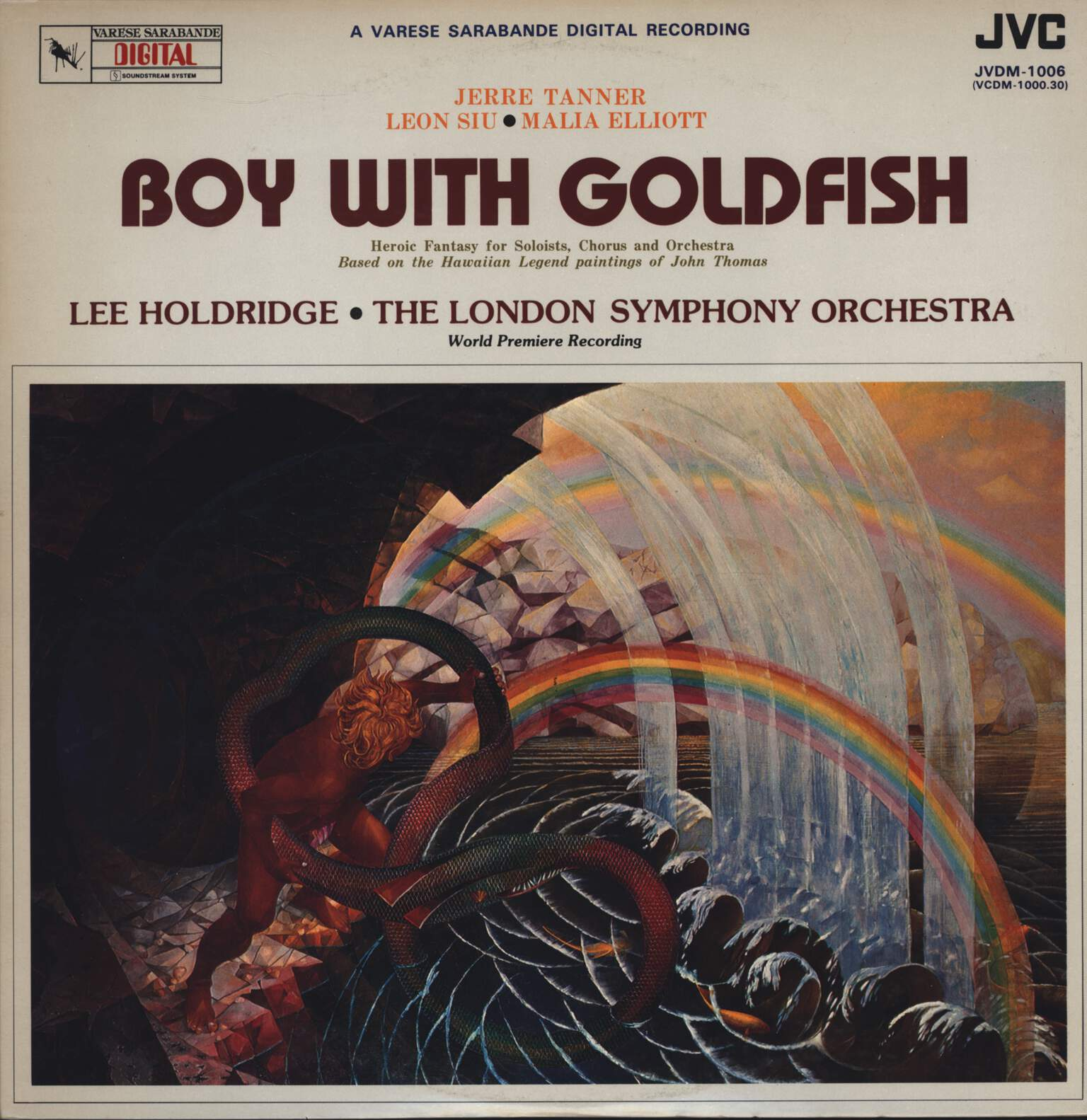 The London Symphony Orchestra: Boy With Goldfish, LP (Vinyl)