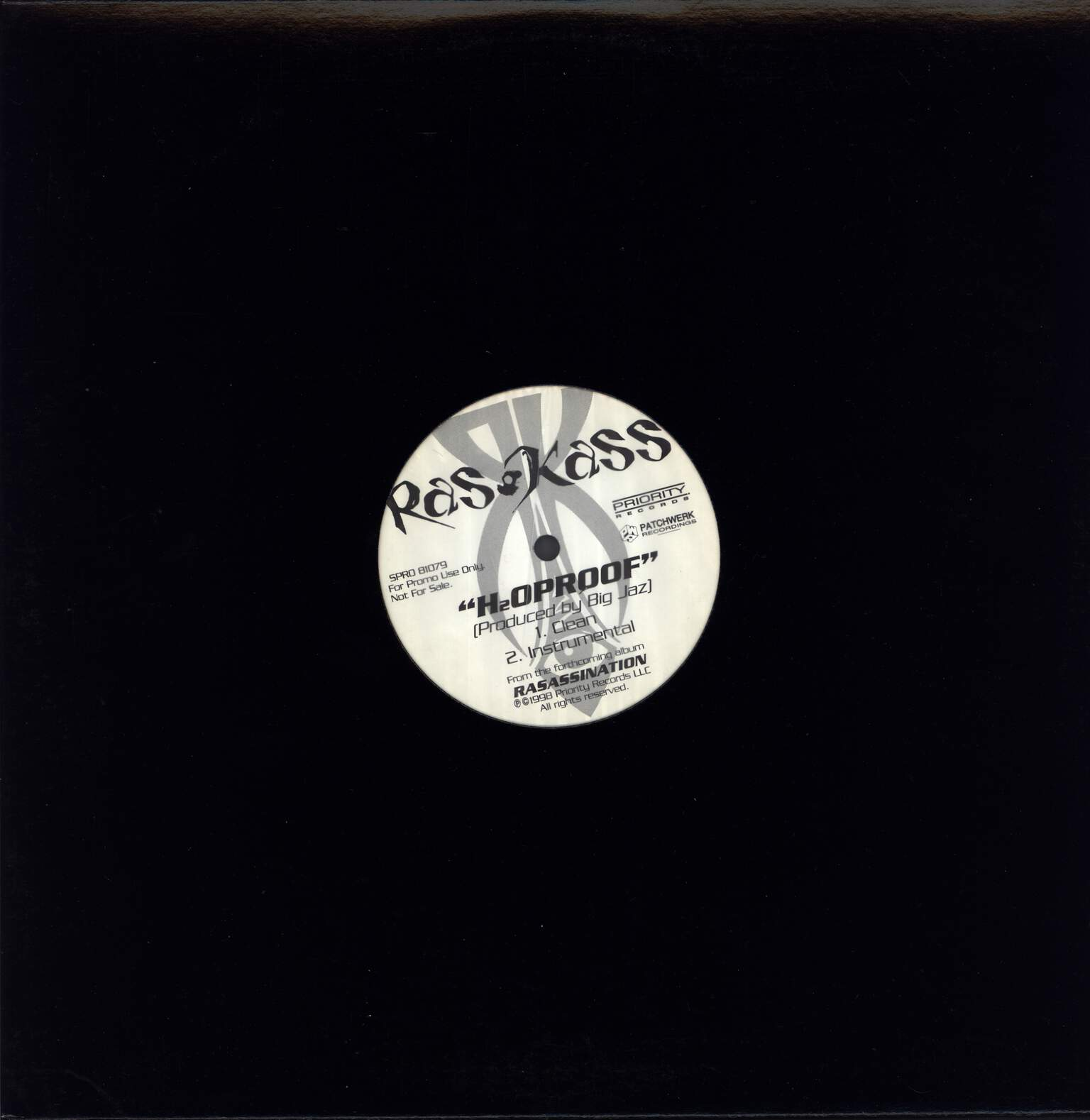 "Ras Kass: H2O Proof, 12"" Maxi Single (Vinyl)"