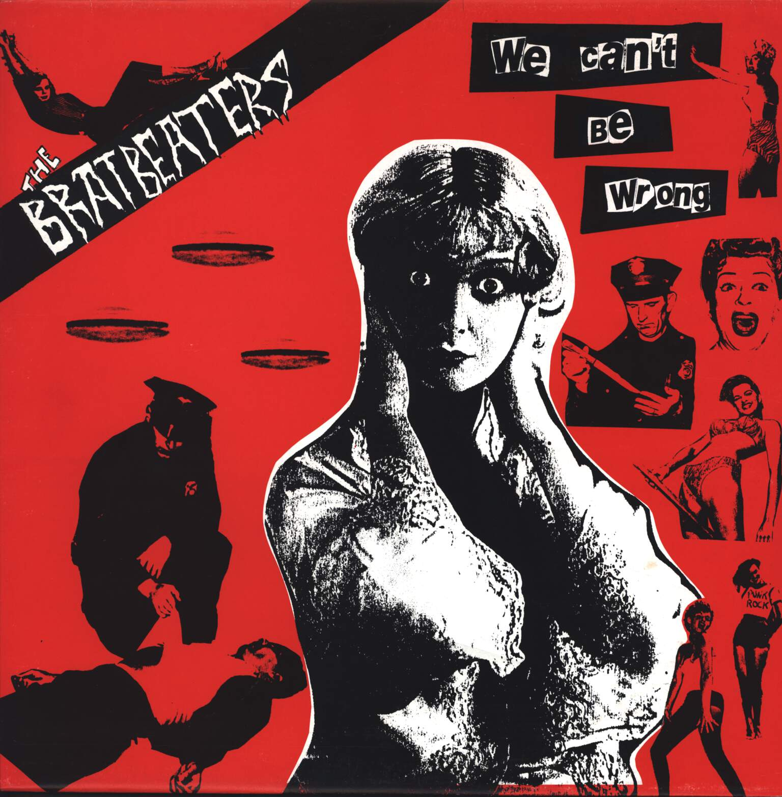 The Bratbeaters: We Can't Be Wrong, LP (Vinyl)