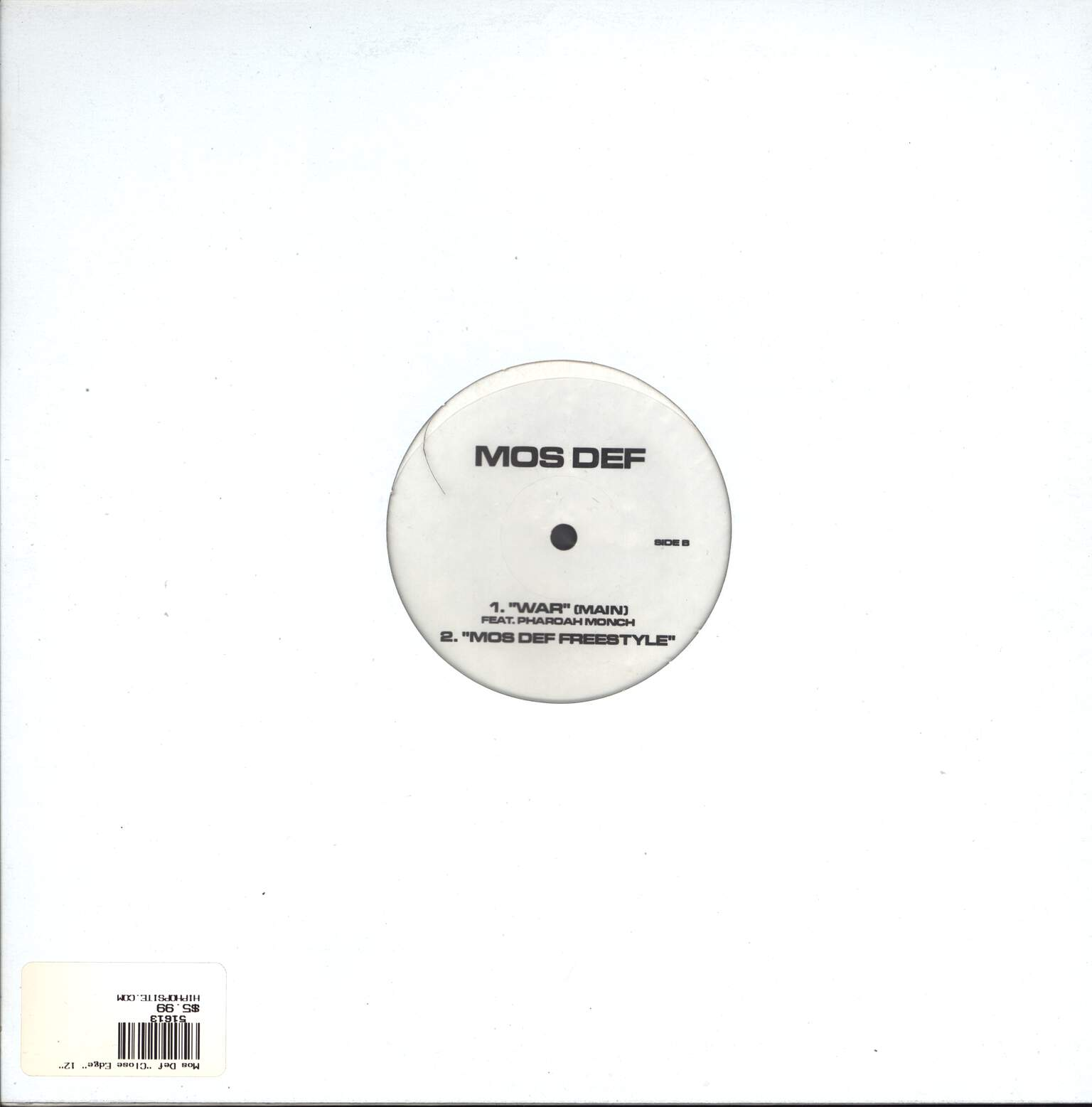 "Mos Def: Close Edge / War, 12"" Maxi Single (Vinyl)"