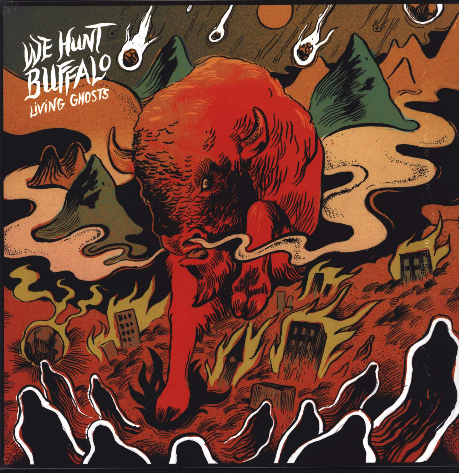 We Hunt Buffalo: Living Ghosts, LP (Vinyl)
