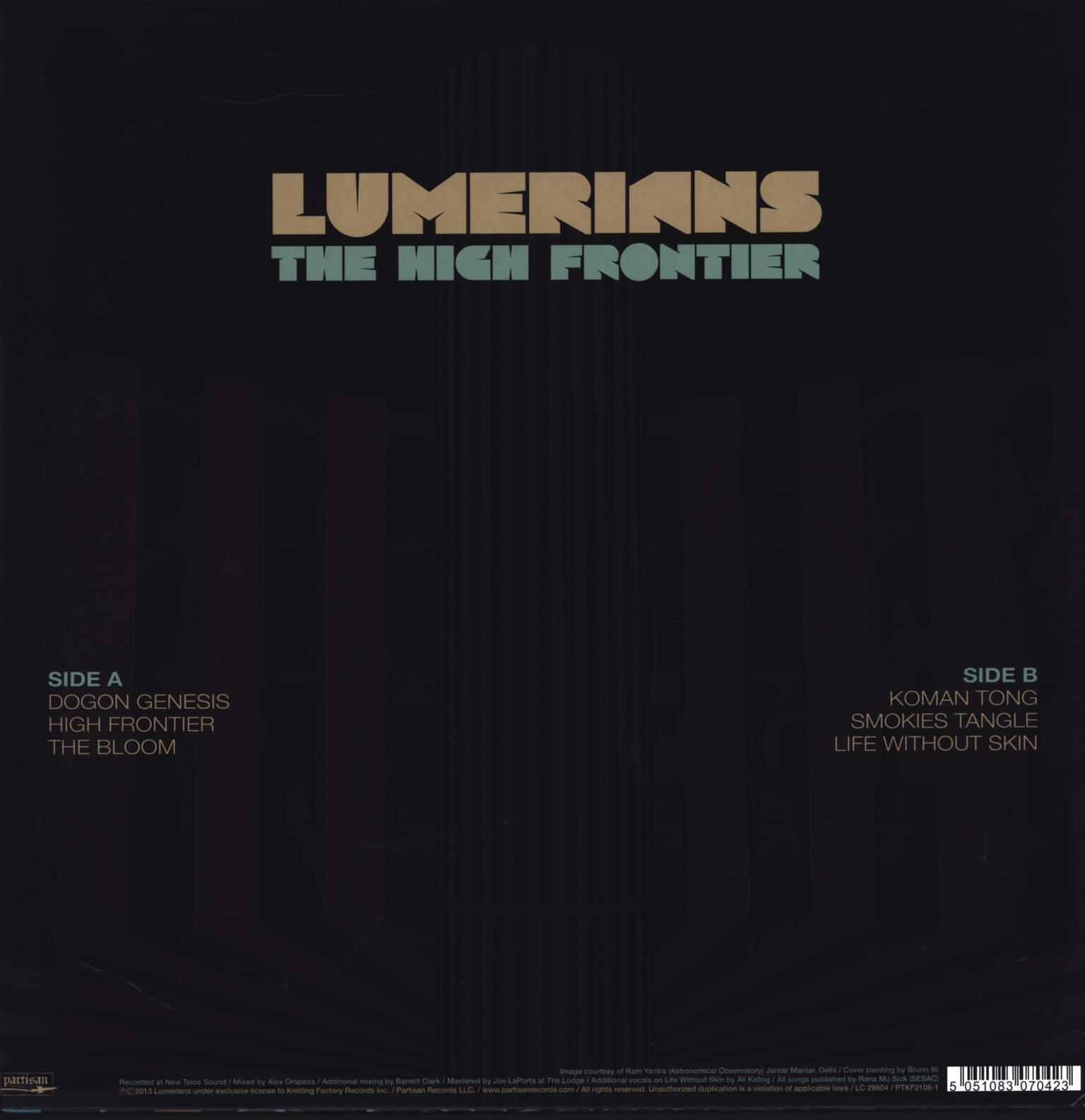 Lumerians: The High Frontier, LP (Vinyl)