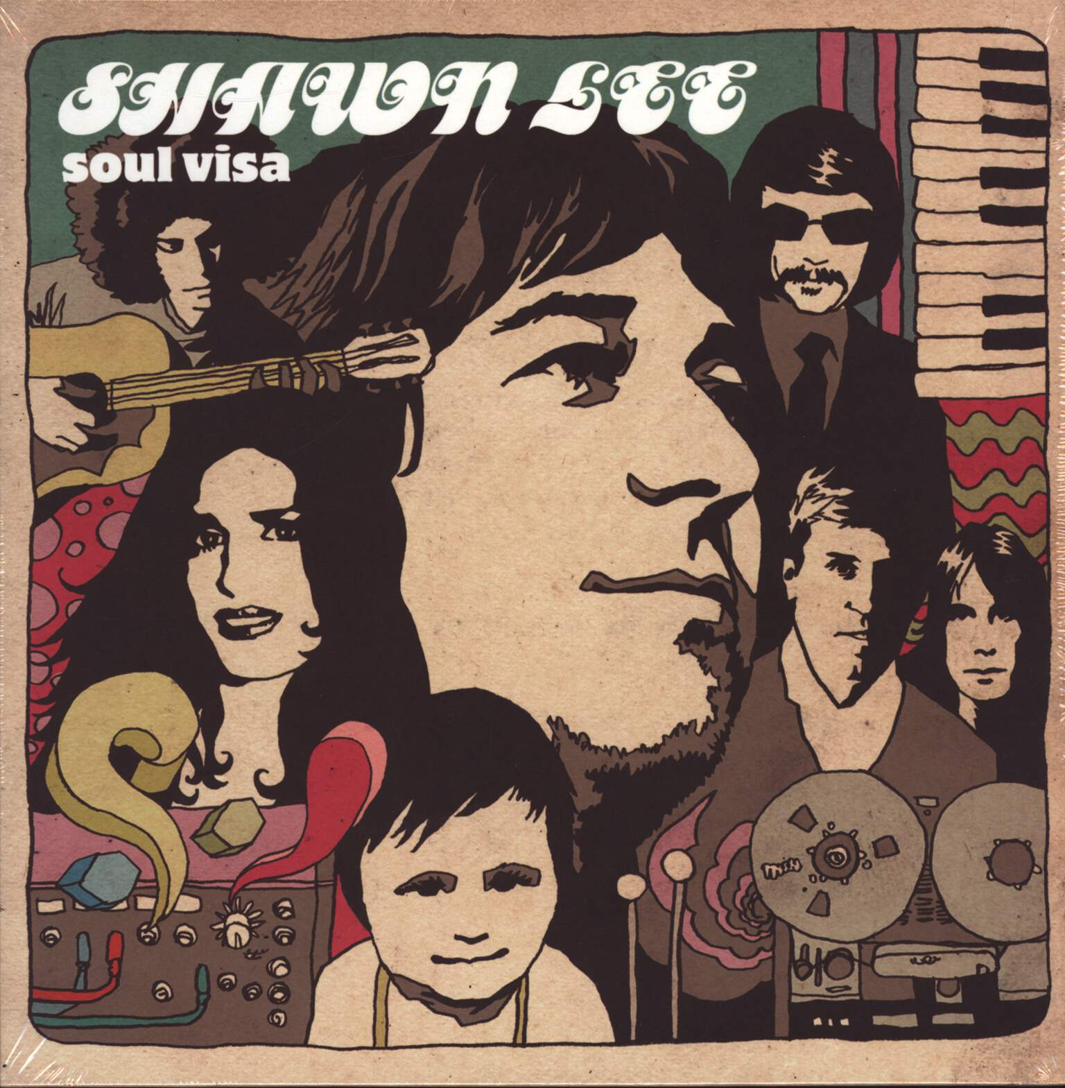 Shawn Lee: Soul Visa, LP (Vinyl)
