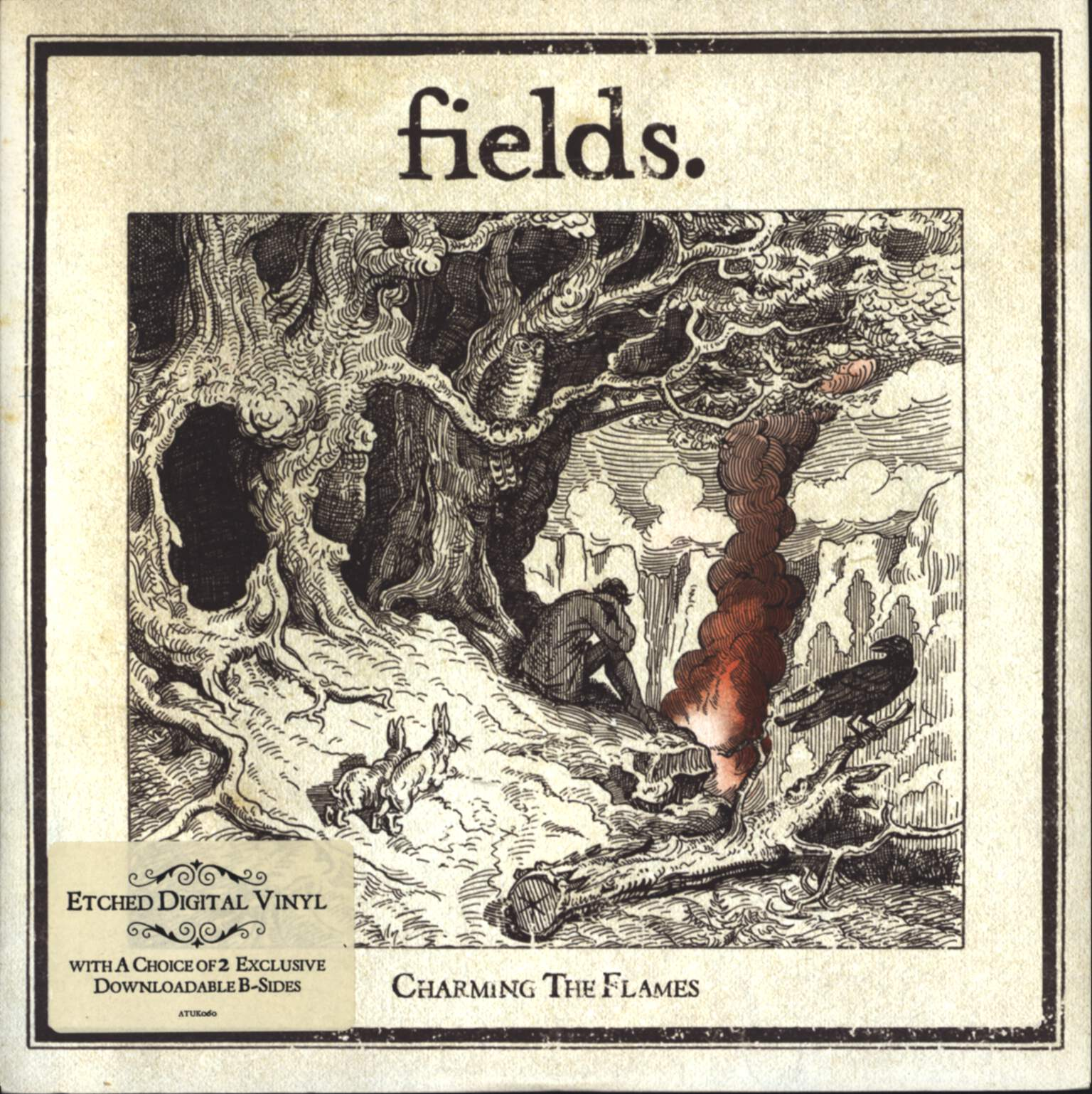 "Fields: Charming The Flames, 7"" Single (Vinyl)"