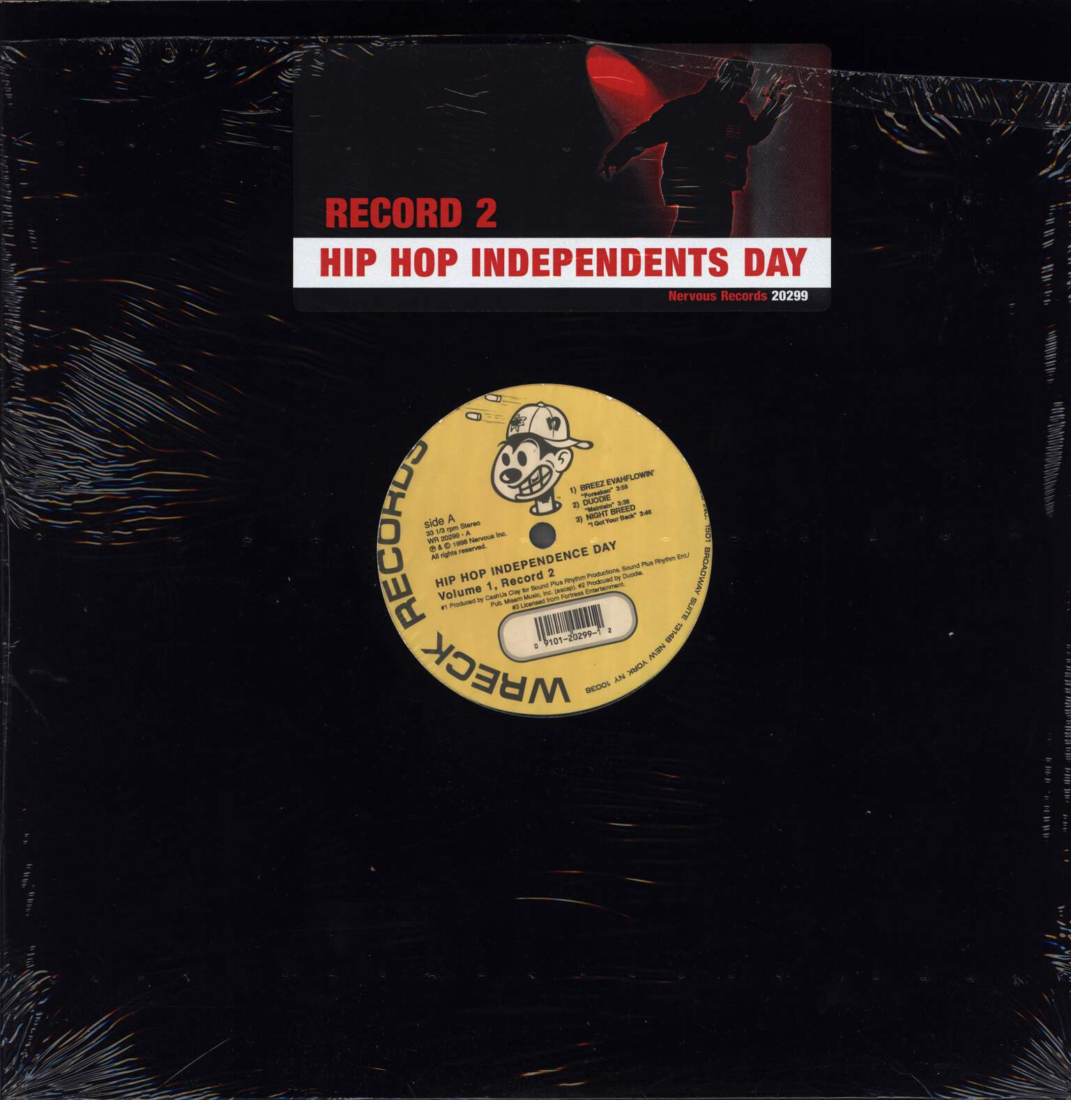 "Various: Hip Hop Independents Day: Volume 1 (Record 2), 12"" Maxi Single (Vinyl)"