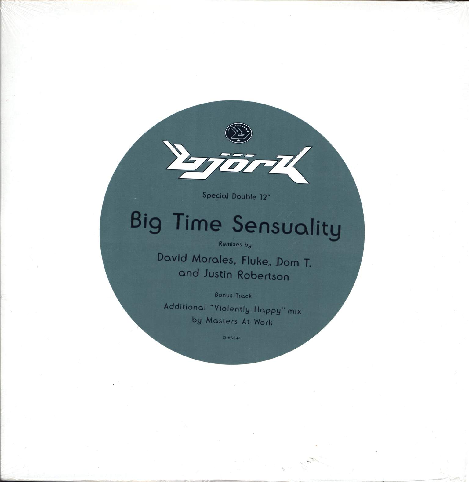 "Björk: Big Time Sensuality, 12"" Maxi Single (Vinyl)"
