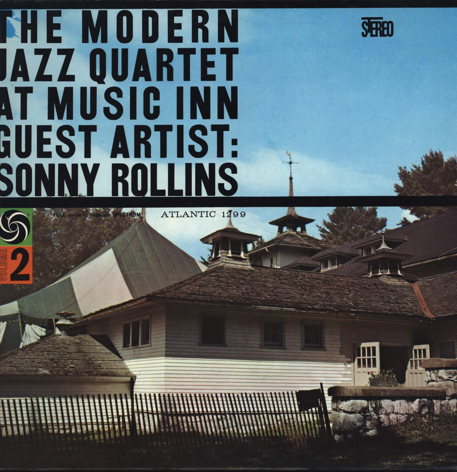 The Modern Jazz Quartet: The Modern Jazz Quartet At Music Inn — Volume 2, LP (Vinyl)