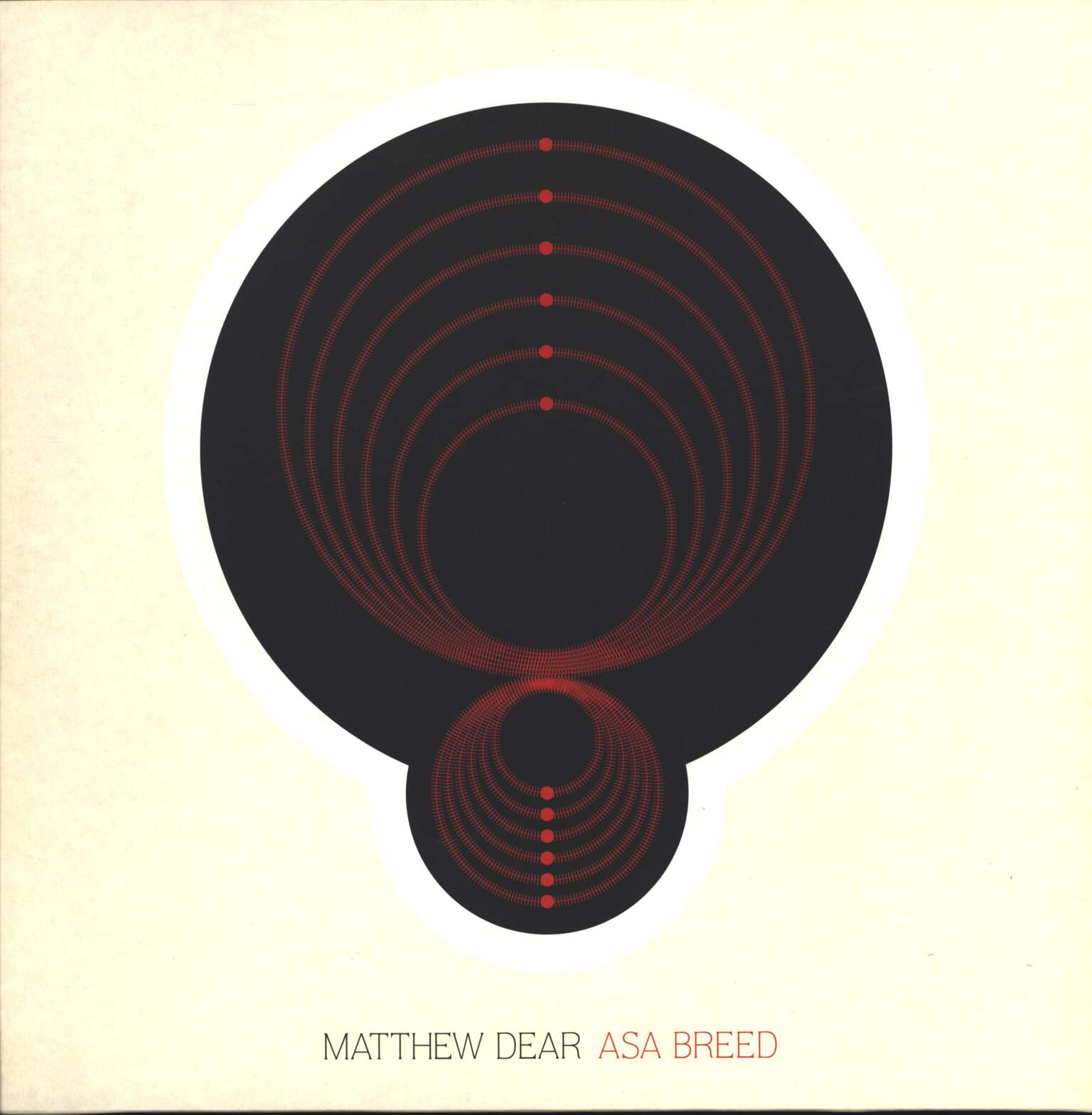 "Matthew Dear: Asa Breed, 12"" Maxi Single (Vinyl)"