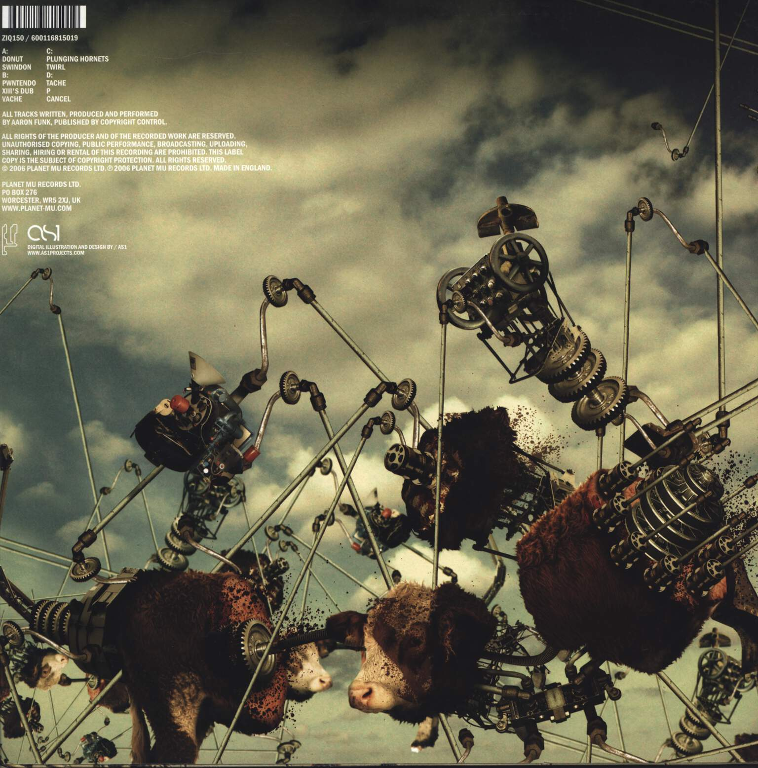 "Venetian Snares: Cavalcade Of Glee And Dadaist Happy Hardcore Pom Poms, 12"" Maxi Single (Vinyl)"