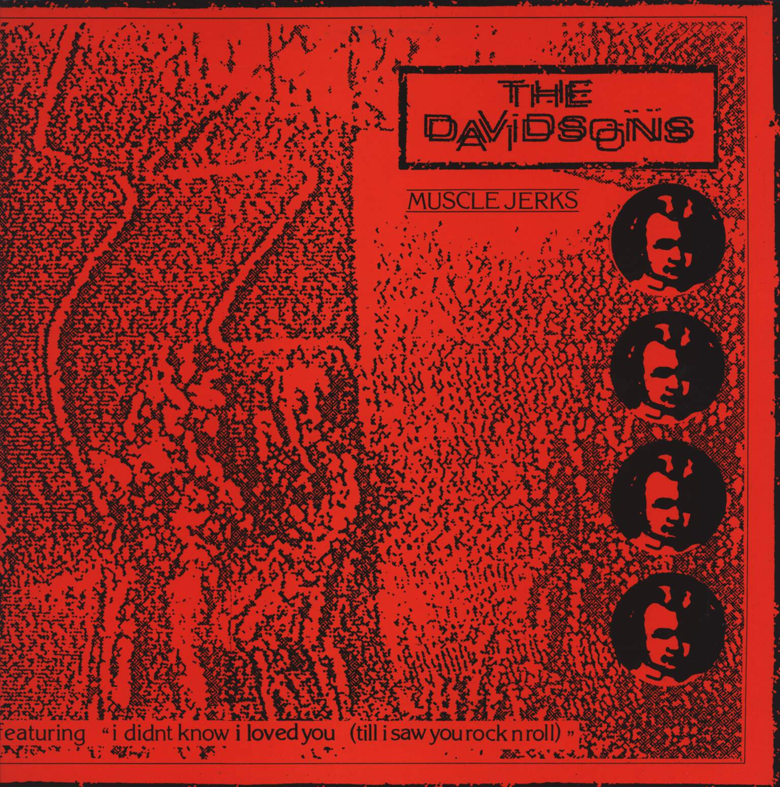 "The Davidsons: Muscle Jerks, 12"" Maxi Single (Vinyl)"