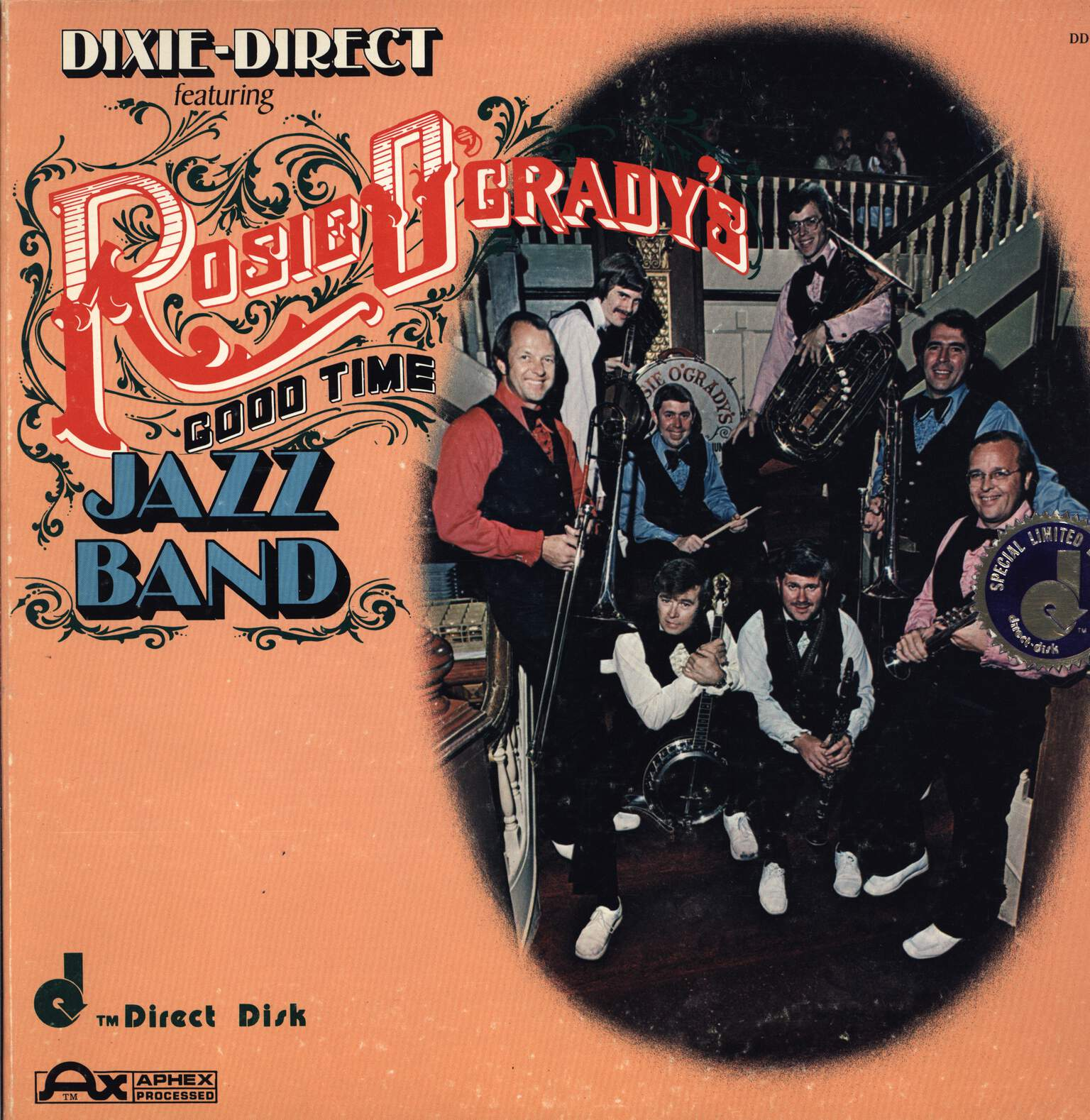 Rosie O'Grady's Good Time Jazz Band: Dixie-Direct Featuring Rosie O'Grady's Good Time Jazz Band, LP (Vinyl)