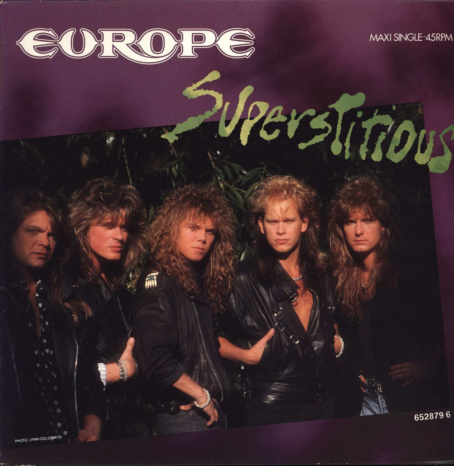 "Europe: Superstitious, 12"" Maxi Single (Vinyl)"
