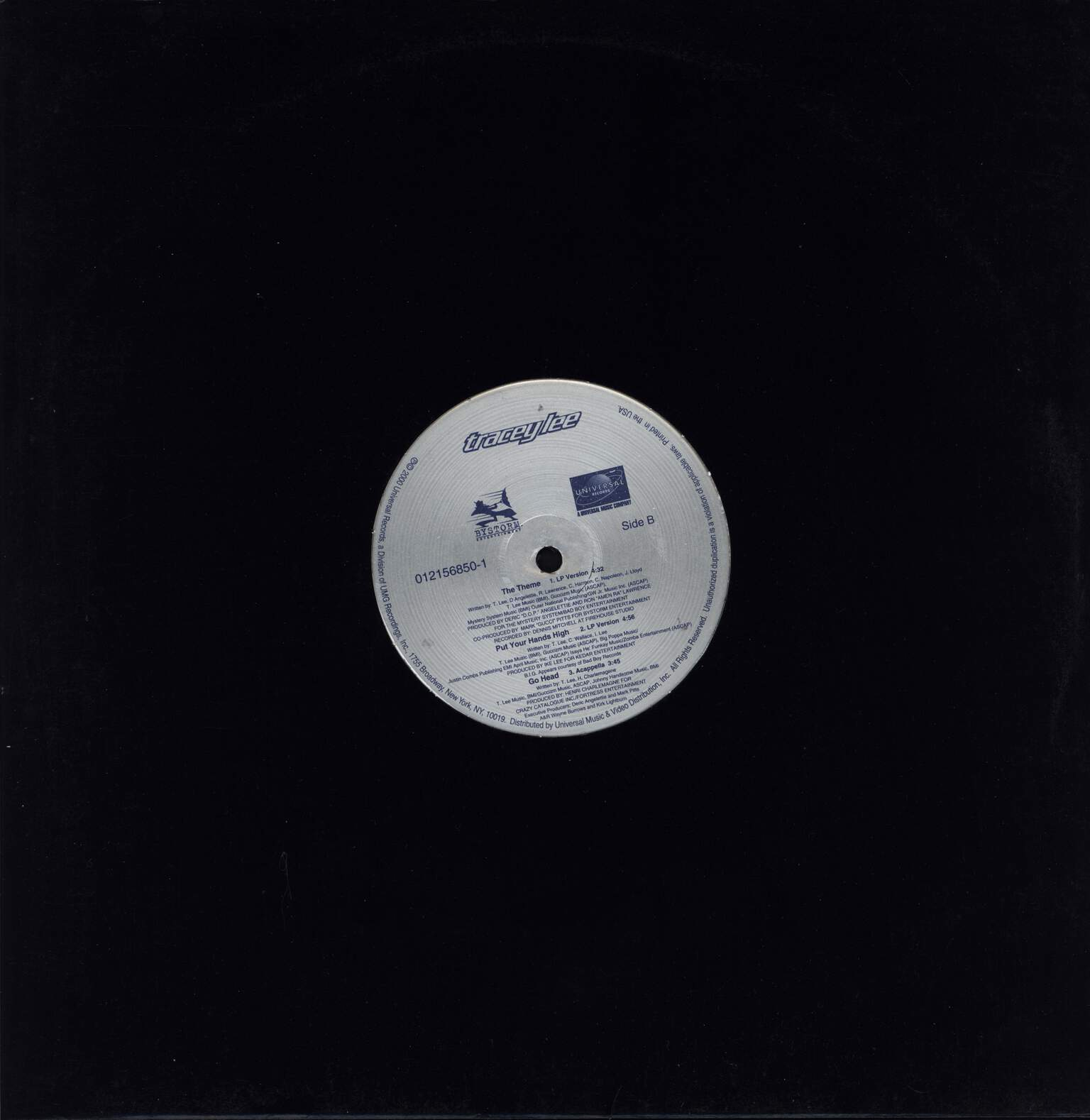 "Tracey Lee: Go Head, 12"" Maxi Single (Vinyl)"
