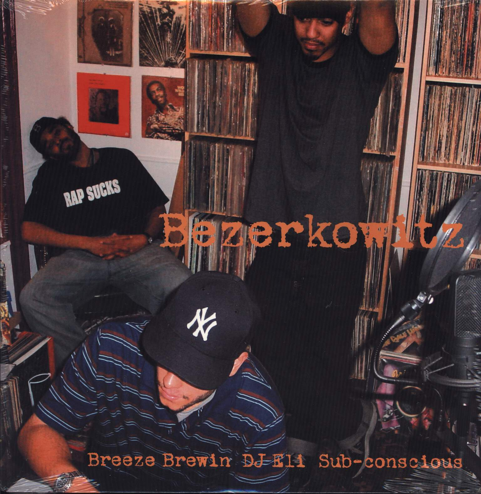 "Breezly Brewin: Bezerkowitz / A Good Combination, 12"" Maxi Single (Vinyl)"