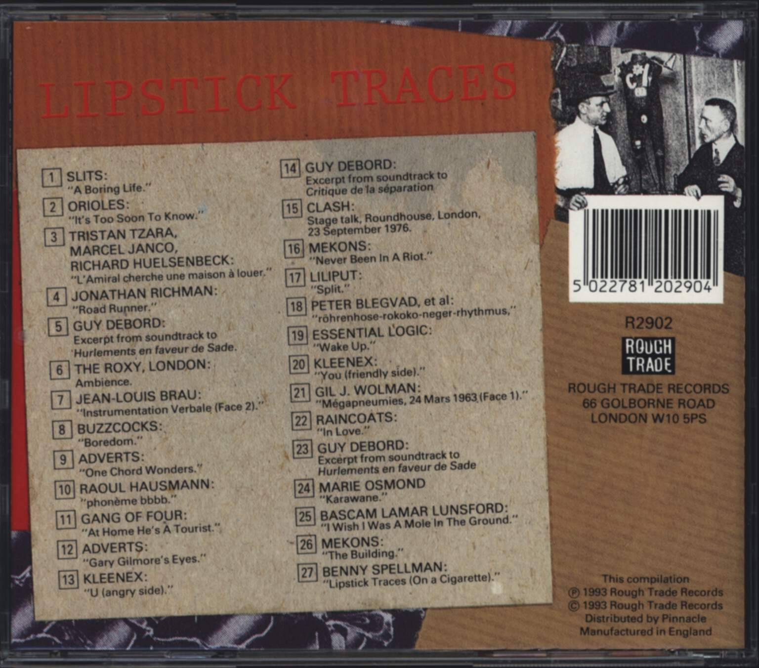Various: Lipstick Traces, CD