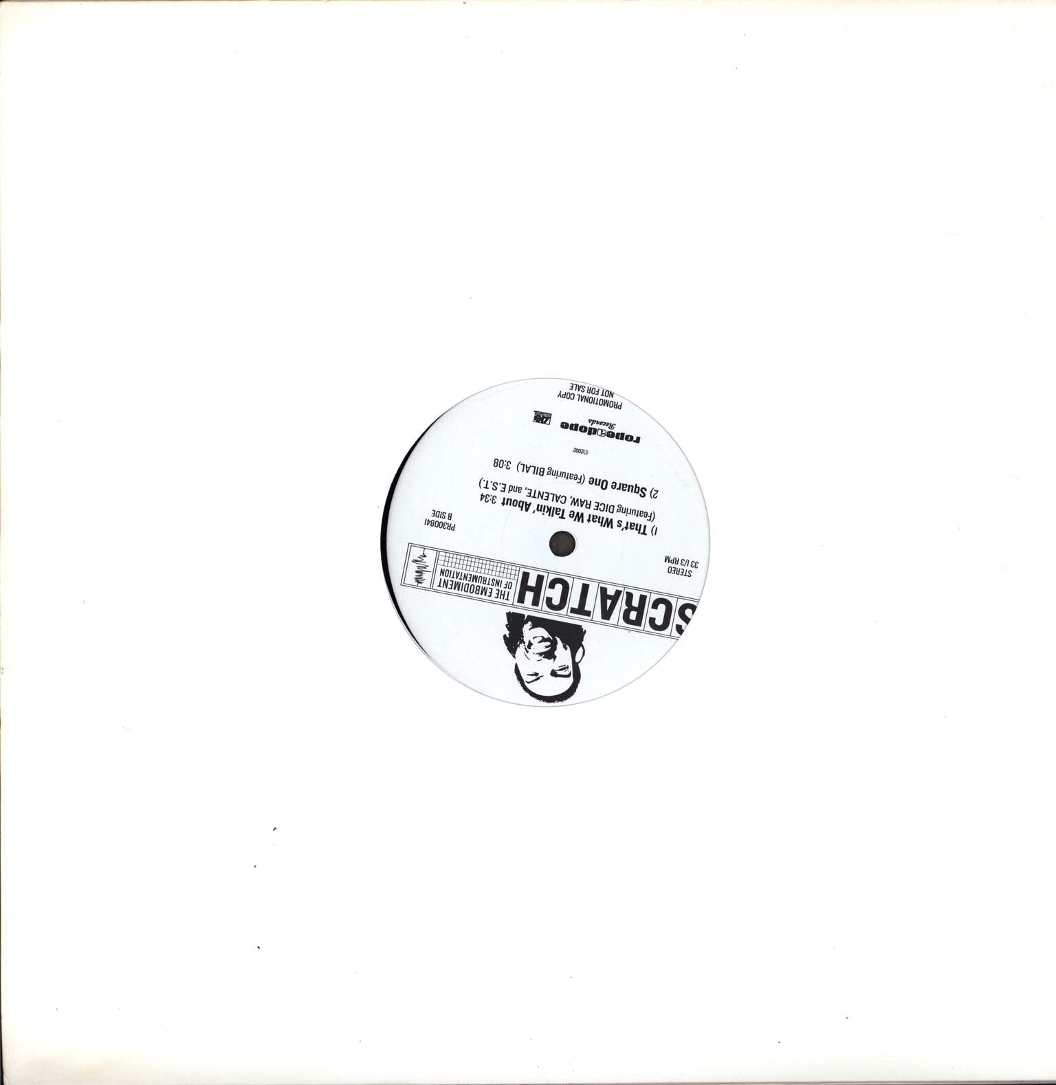 "Scratch: U Know The Rulez / That's What We Talkin' About / Square One, 12"" Maxi Single (Vinyl)"