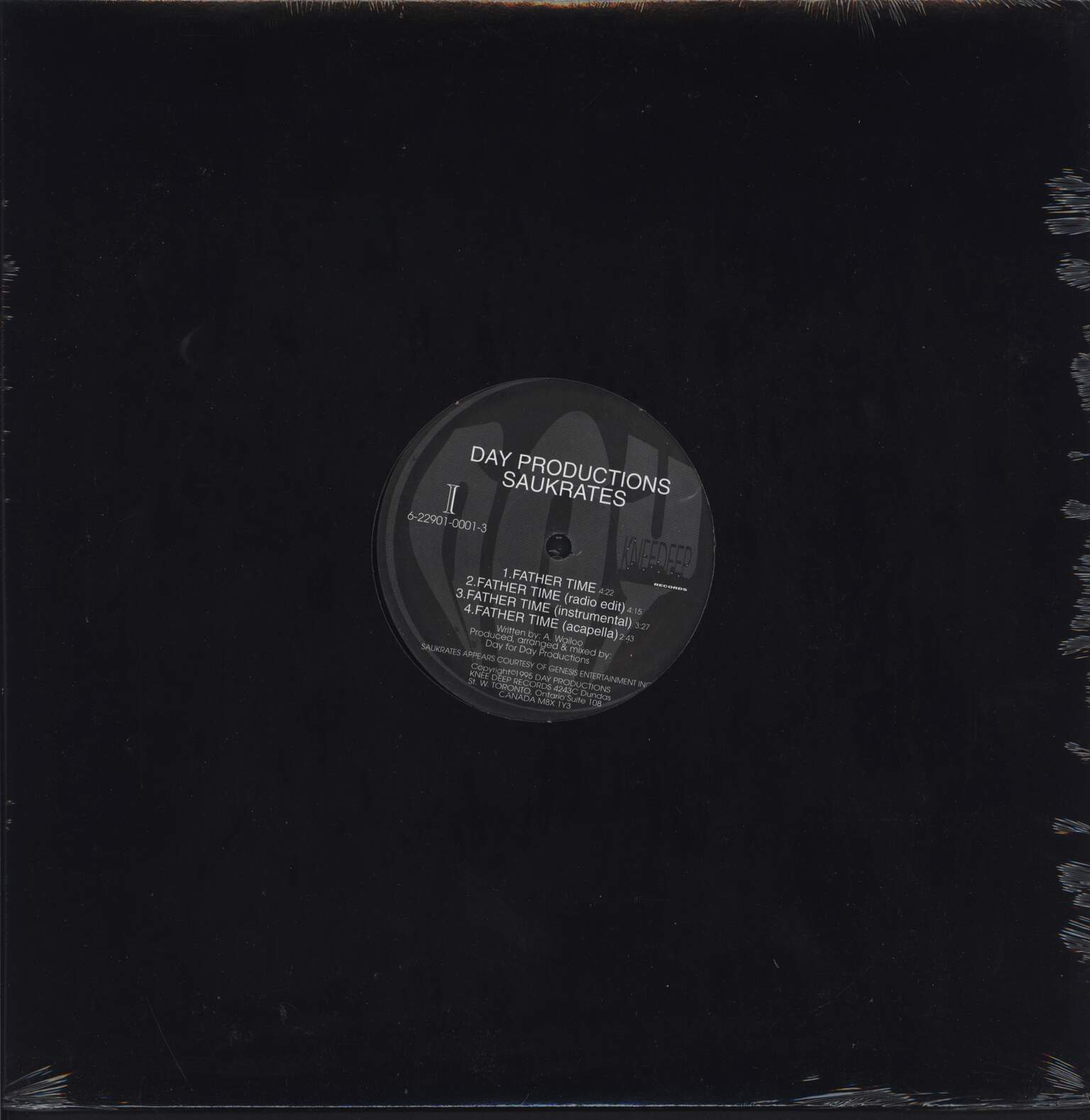 "Saukrates: Father Time / Twenty One Years, 12"" Maxi Single (Vinyl)"