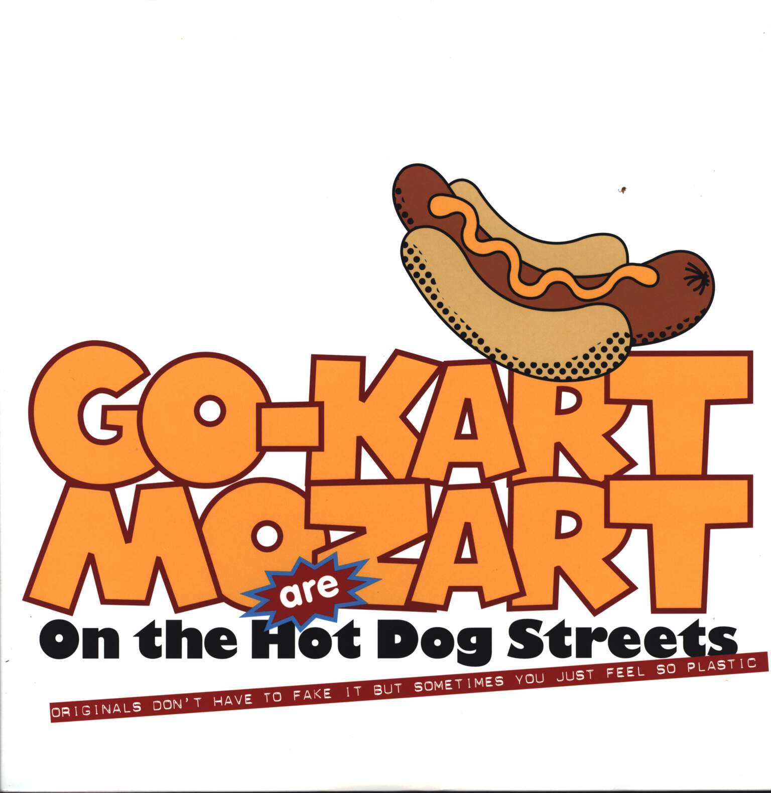 Go-Kart Mozart: On The Hot Dog Streets, LP (Vinyl)