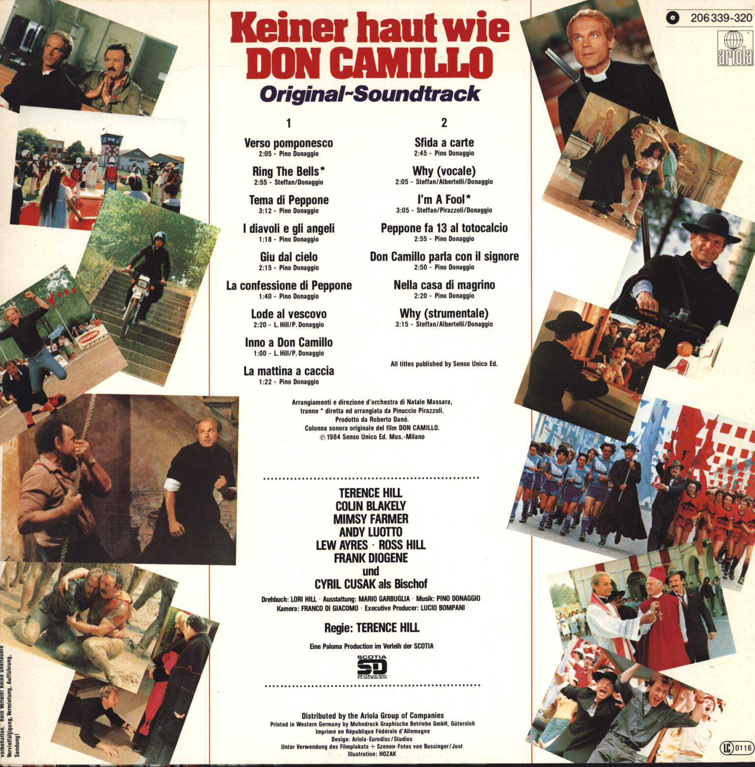 Pino Donaggio: Keiner Haut Wie Don Camillo (Original Soundtrack), LP (Vinyl)