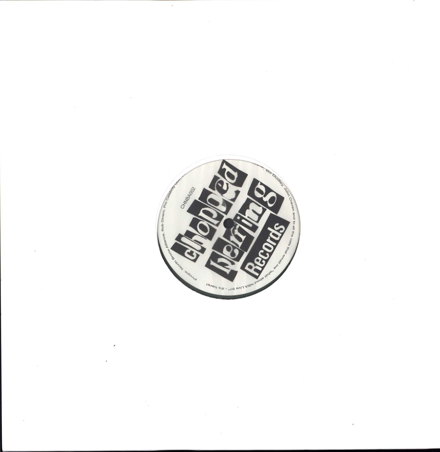 "North Bronx Alliance: North Bronx Shit 1996-1998 EP, 12"" Maxi Single (Vinyl)"