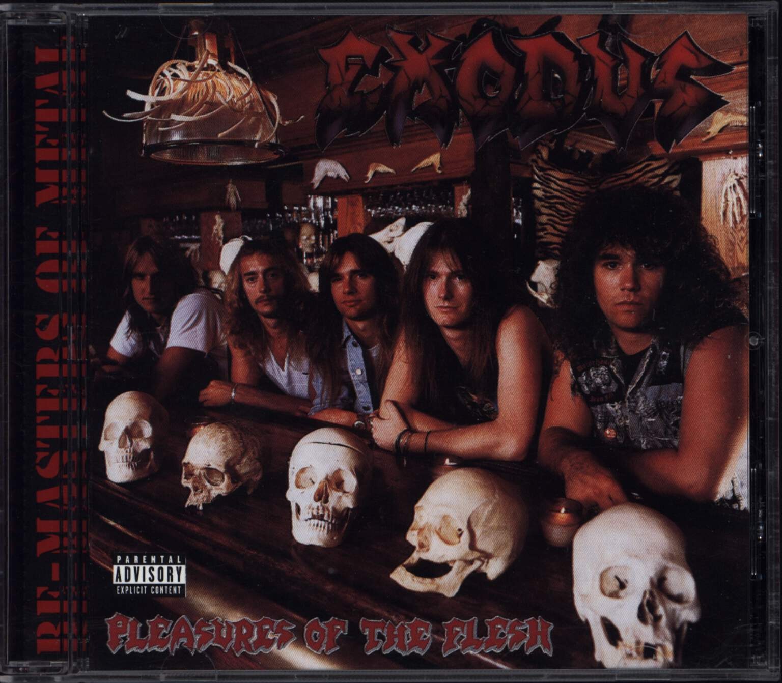 Exodus: Pleasures Of The Flesh, CD