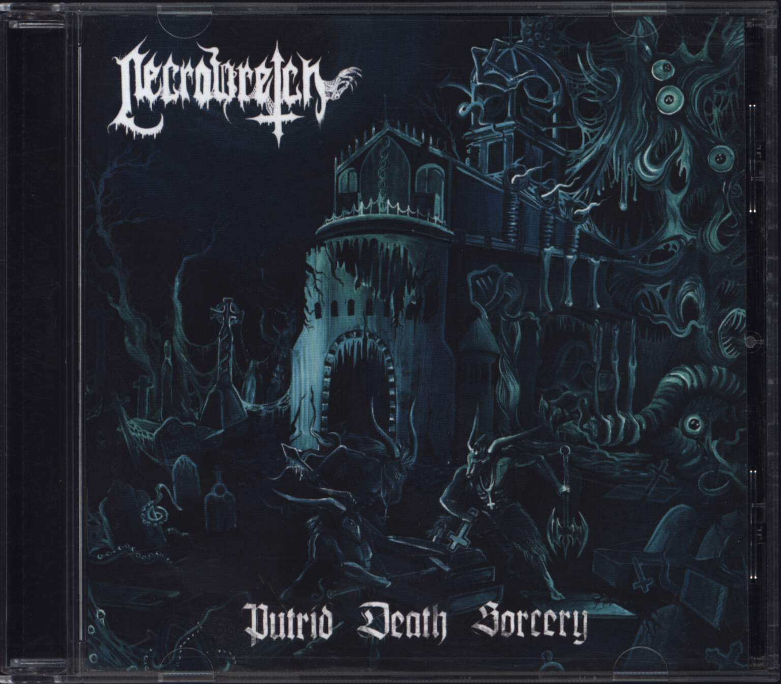 Necrowretch: Putrid Death Sorcery, CD