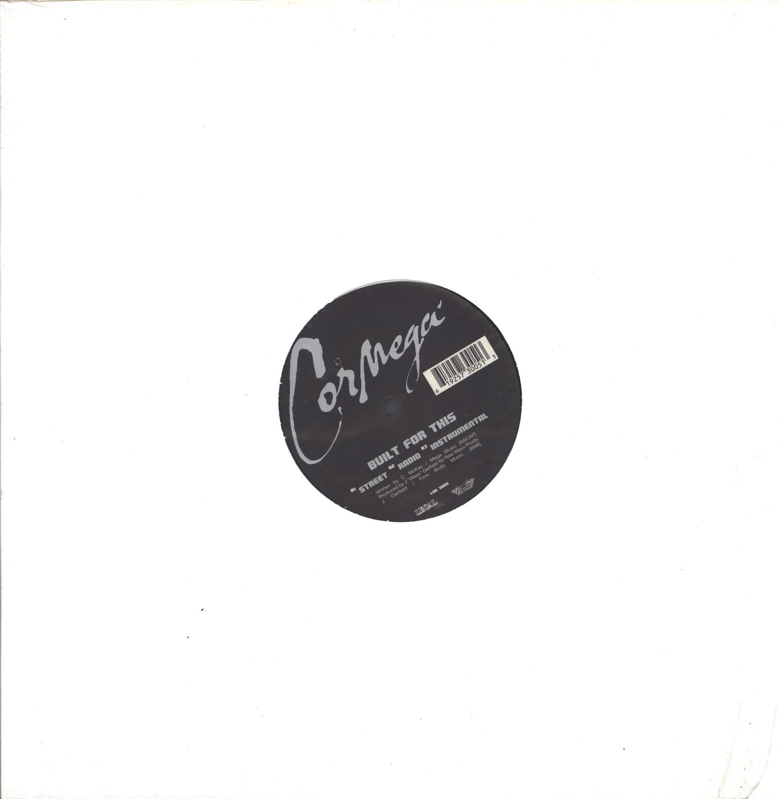 "Cormega: Built For This / True Meaning, 12"" Maxi Single (Vinyl)"