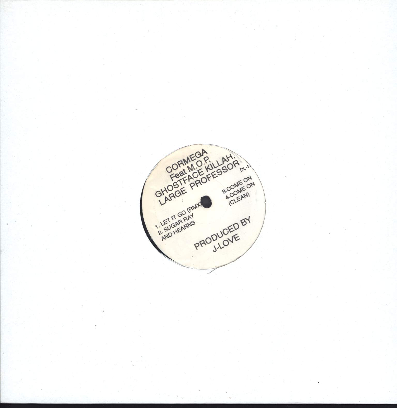 "Cormega: Let It Go (Remix), 12"" Maxi Single (Vinyl)"