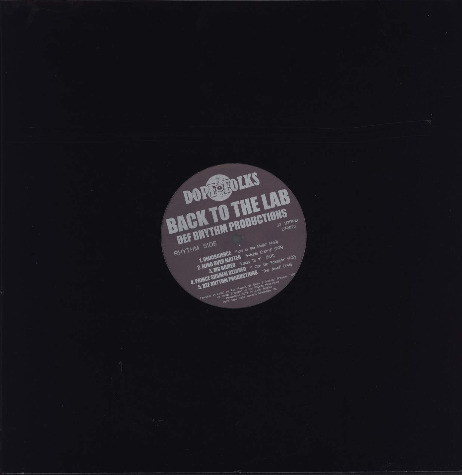 Def Rhythm Productions: Back To The Lab, LP (Vinyl)