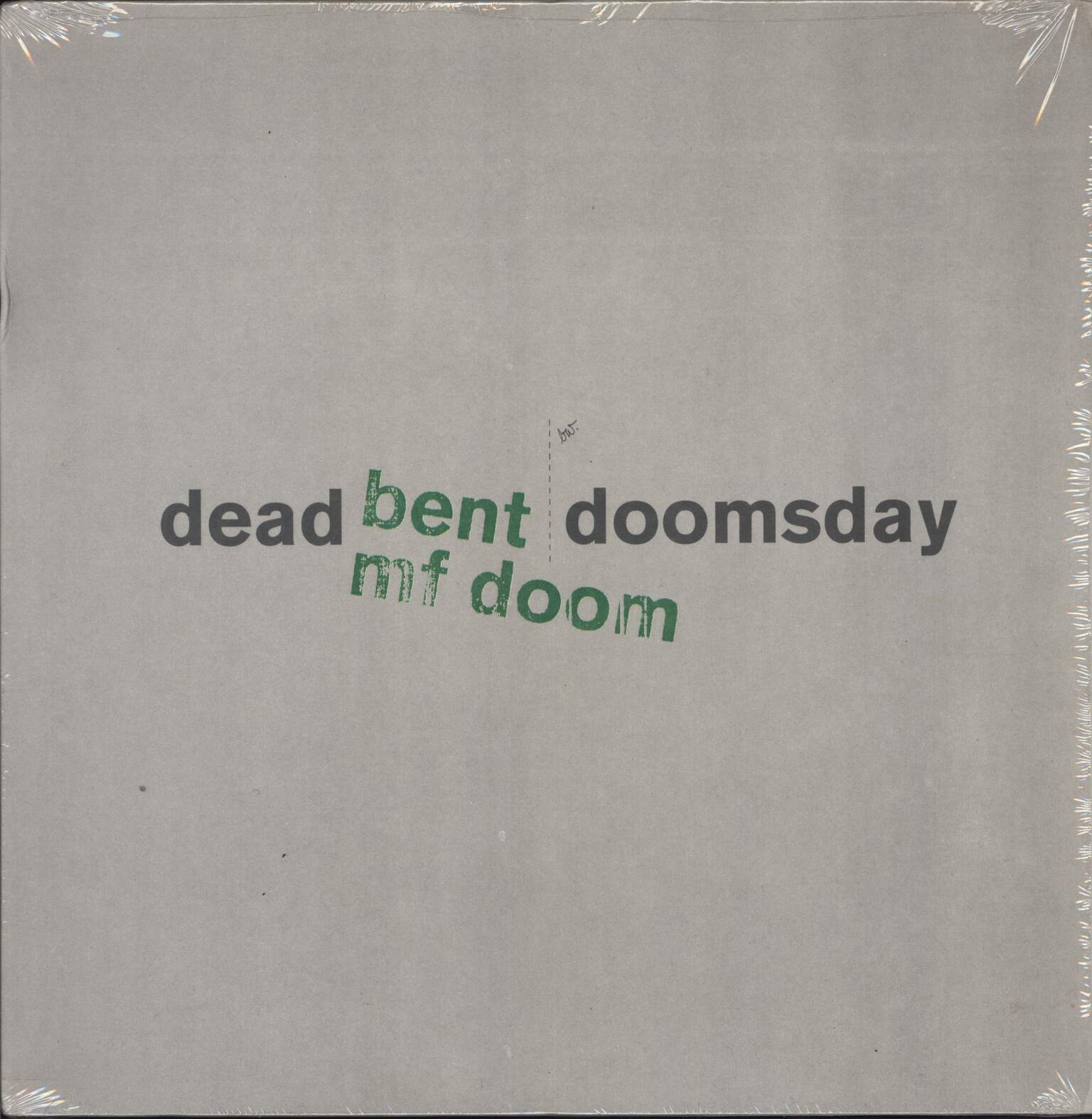 "Mf Doom: Dead Bent / Doomsday, 12"" Maxi Single (Vinyl)"