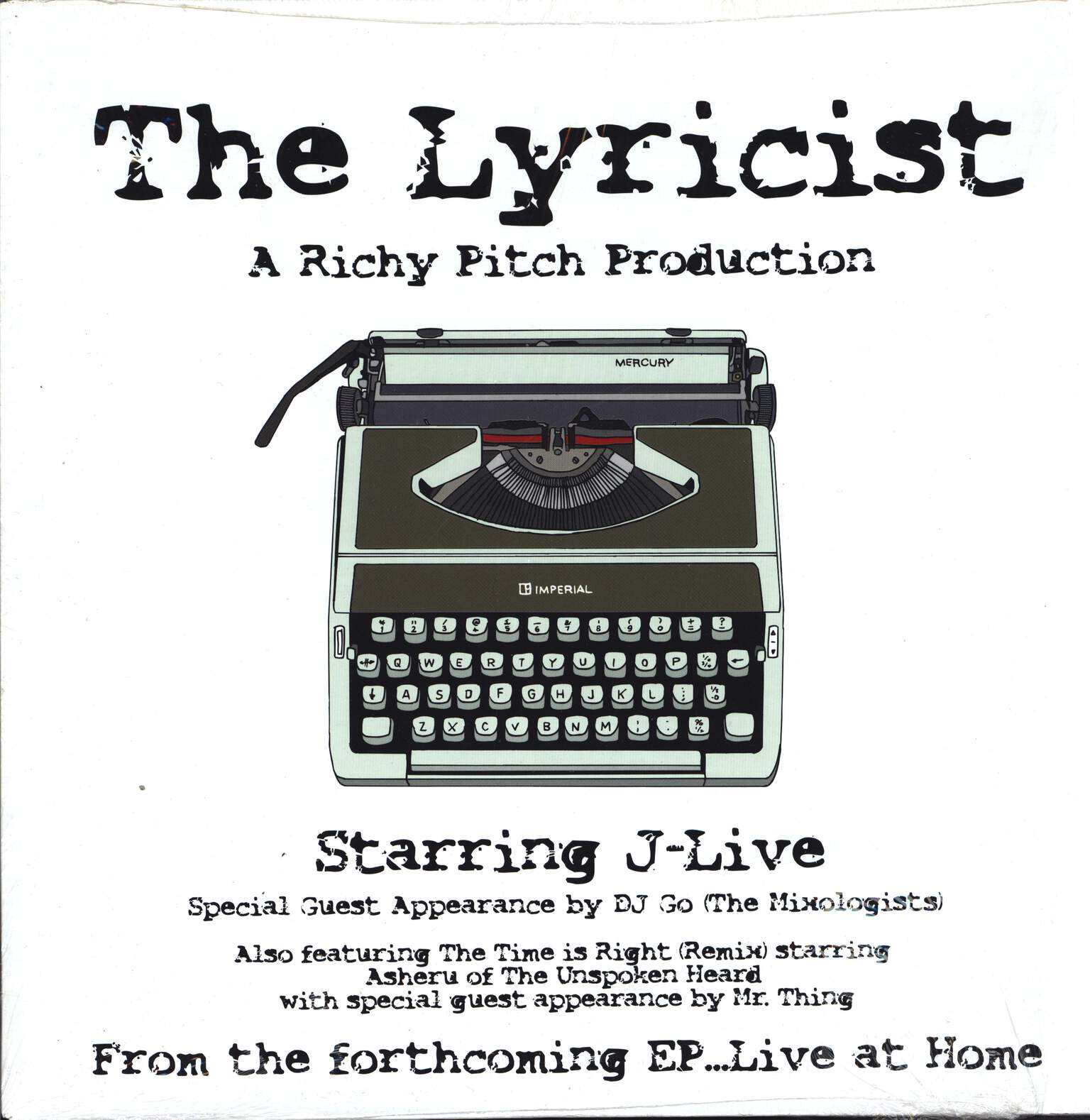 "Richy Pitch: The Lyricist, 12"" Maxi Single (Vinyl)"