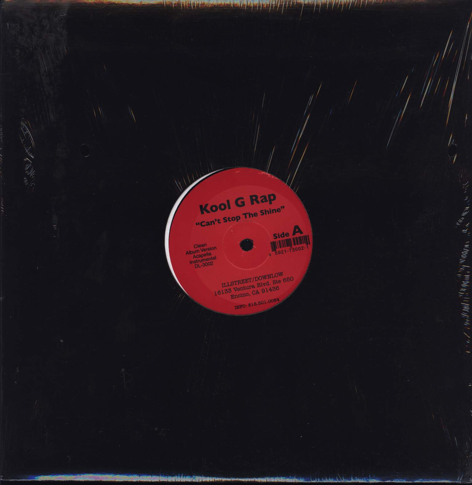 "Kool G Rap: Can't Stop The Shine / Thugs Anthem, 12"" Maxi Single (Vinyl)"