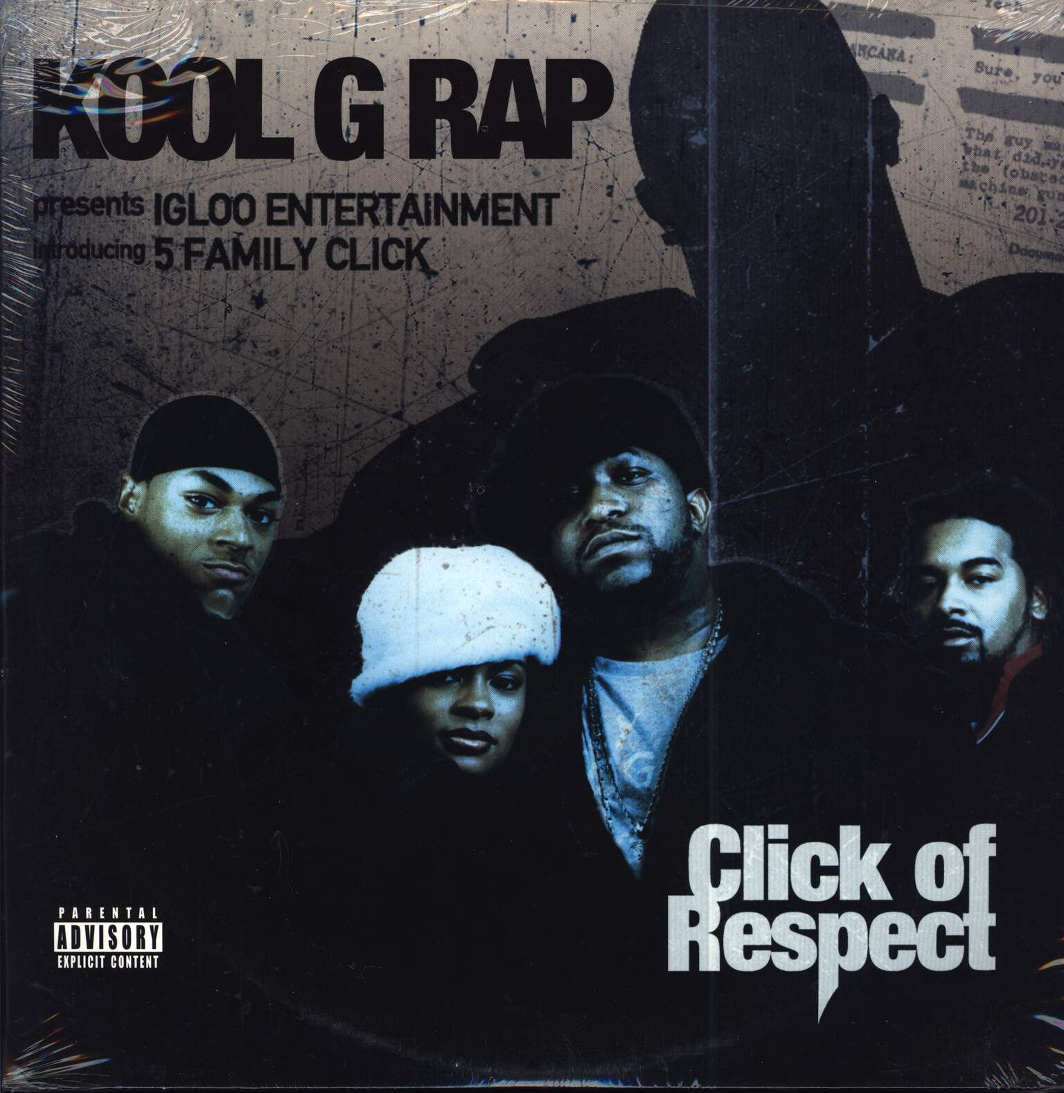 Kool G Rap: Click Of Respect, LP (Vinyl)
