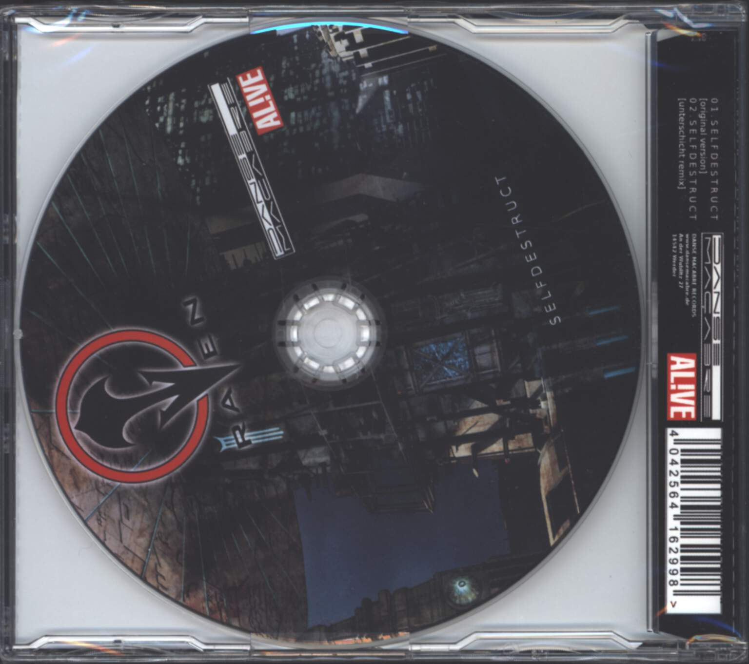 The Raven: Selfdestruct, Mini CD