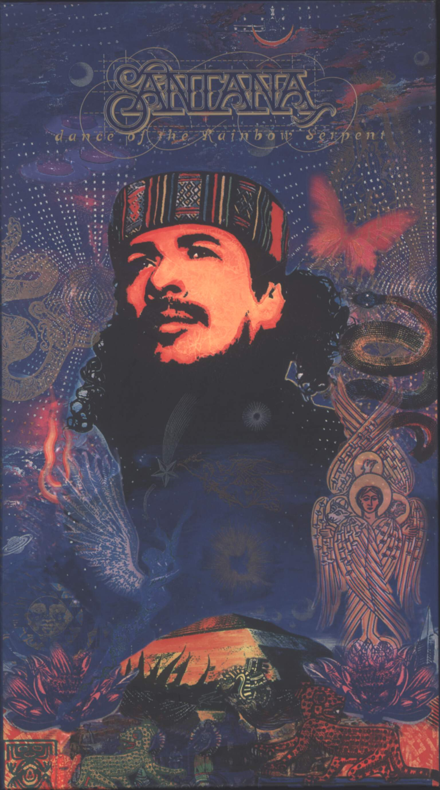 Santana: Dance Of The Rainbow Serpent, CD