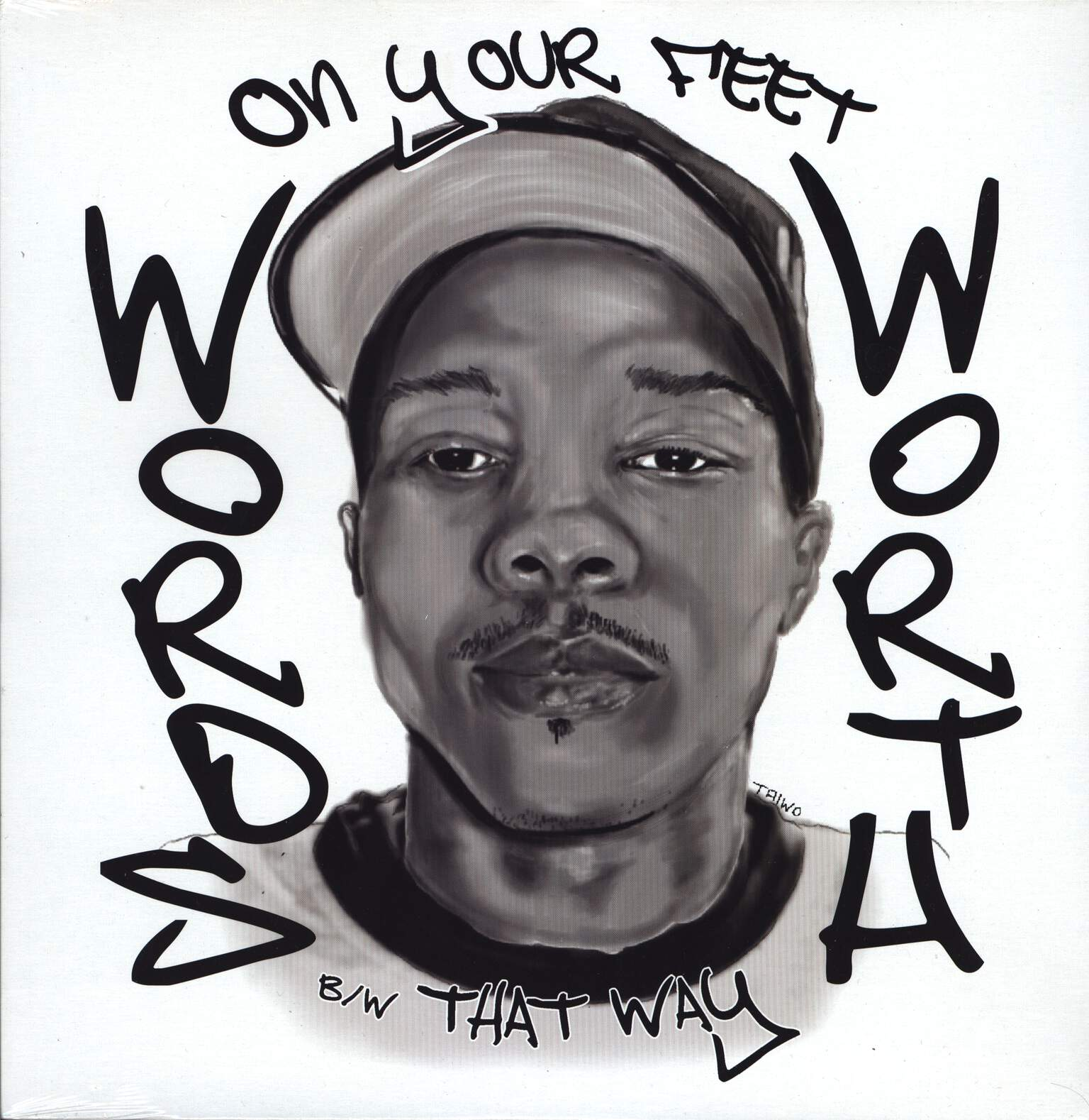 "Wordsworth: On Your Feet / That Way, 12"" Maxi Single (Vinyl)"