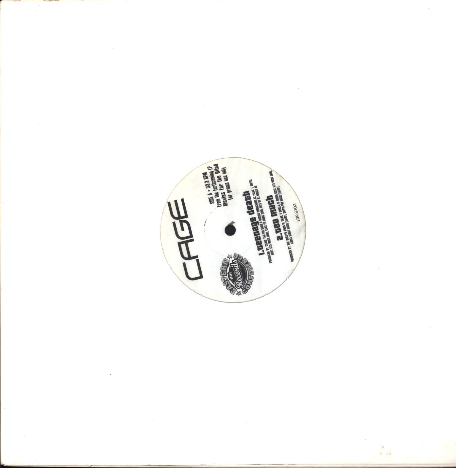 "Cage: Promo LP Sampler, 12"" Maxi Single (Vinyl)"