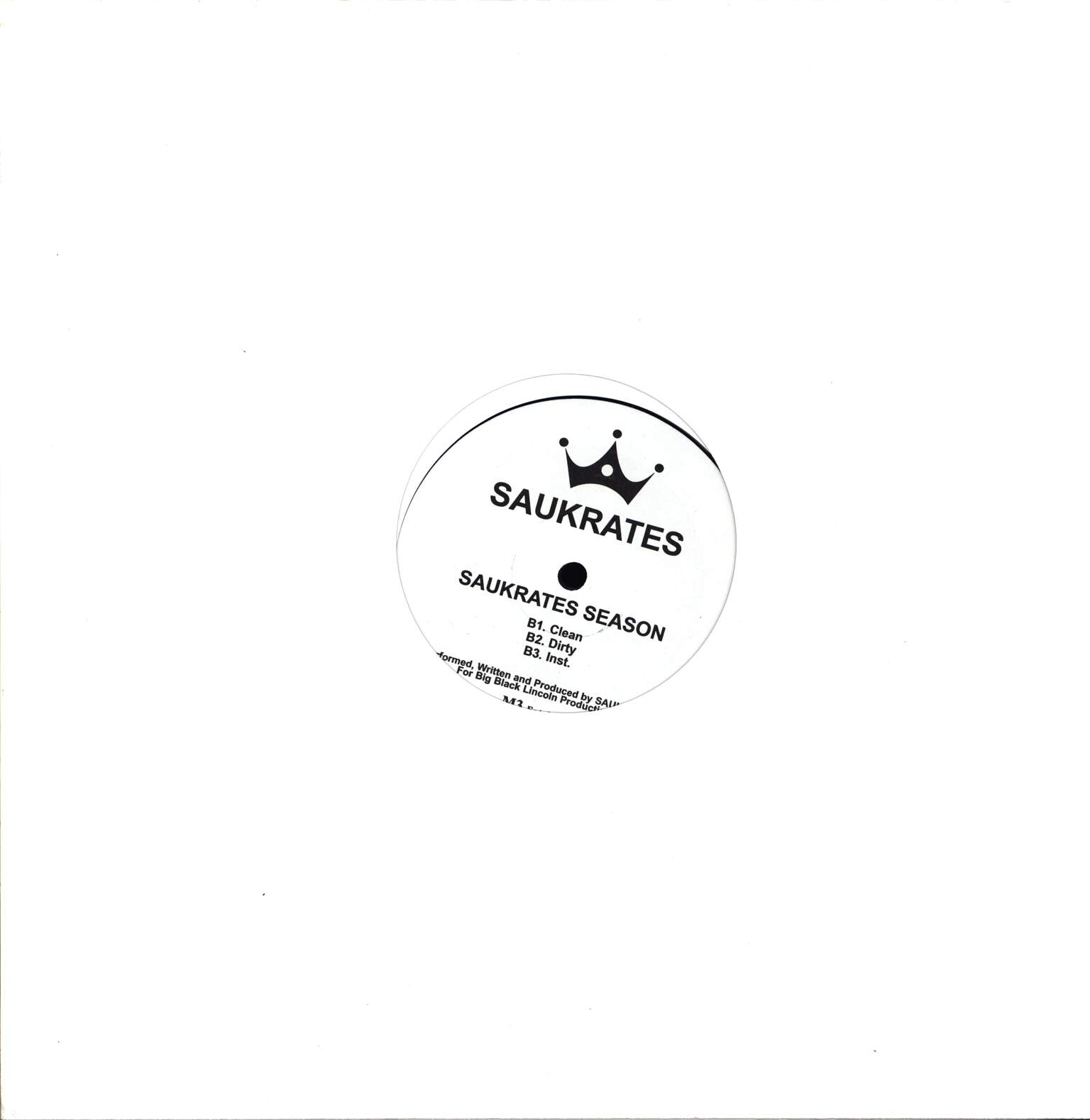 "Saukrates: Hope, 12"" Maxi Single (Vinyl)"