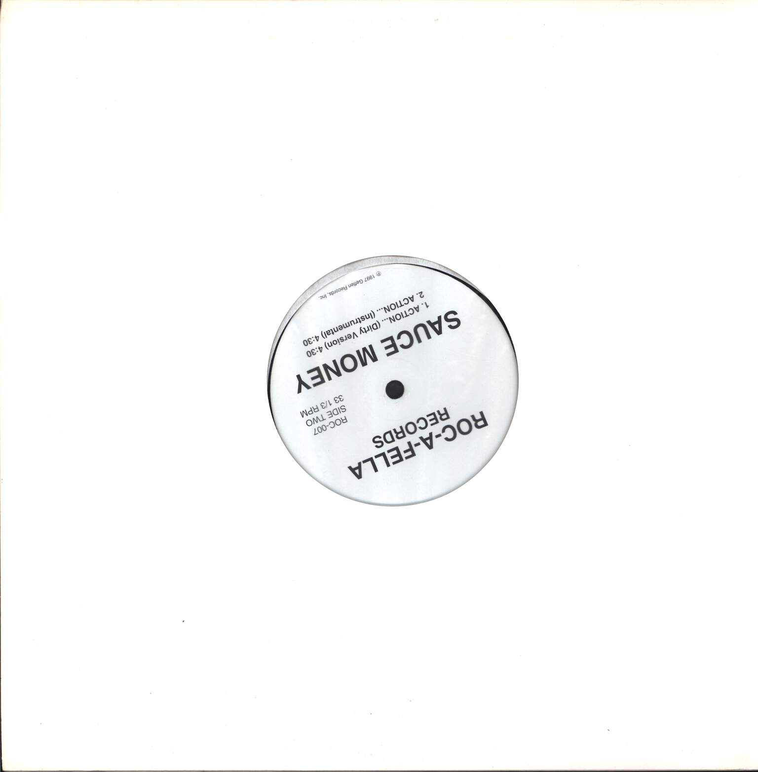 "Sauce Money: Action..., 12"" Maxi Single (Vinyl)"