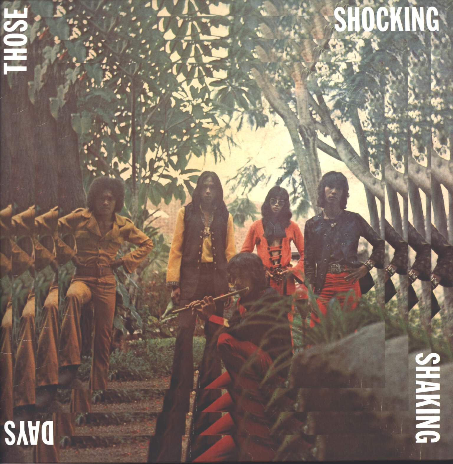 Various: Those Shocking Shaking Days (Indonesian Hard, Psychedelic, Progressive Rock And Funk: 1970 - 1978), LP (Vinyl)
