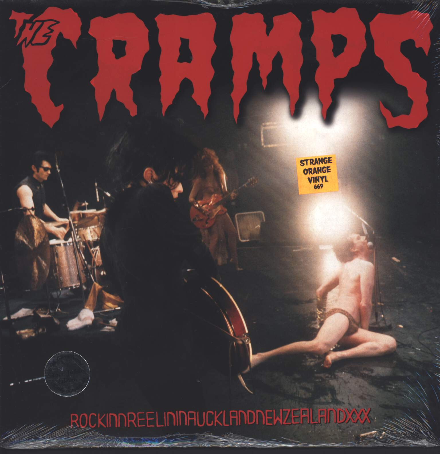 The Cramps: RockinnReelininAucklandNewZealandXXX, LP (Vinyl)