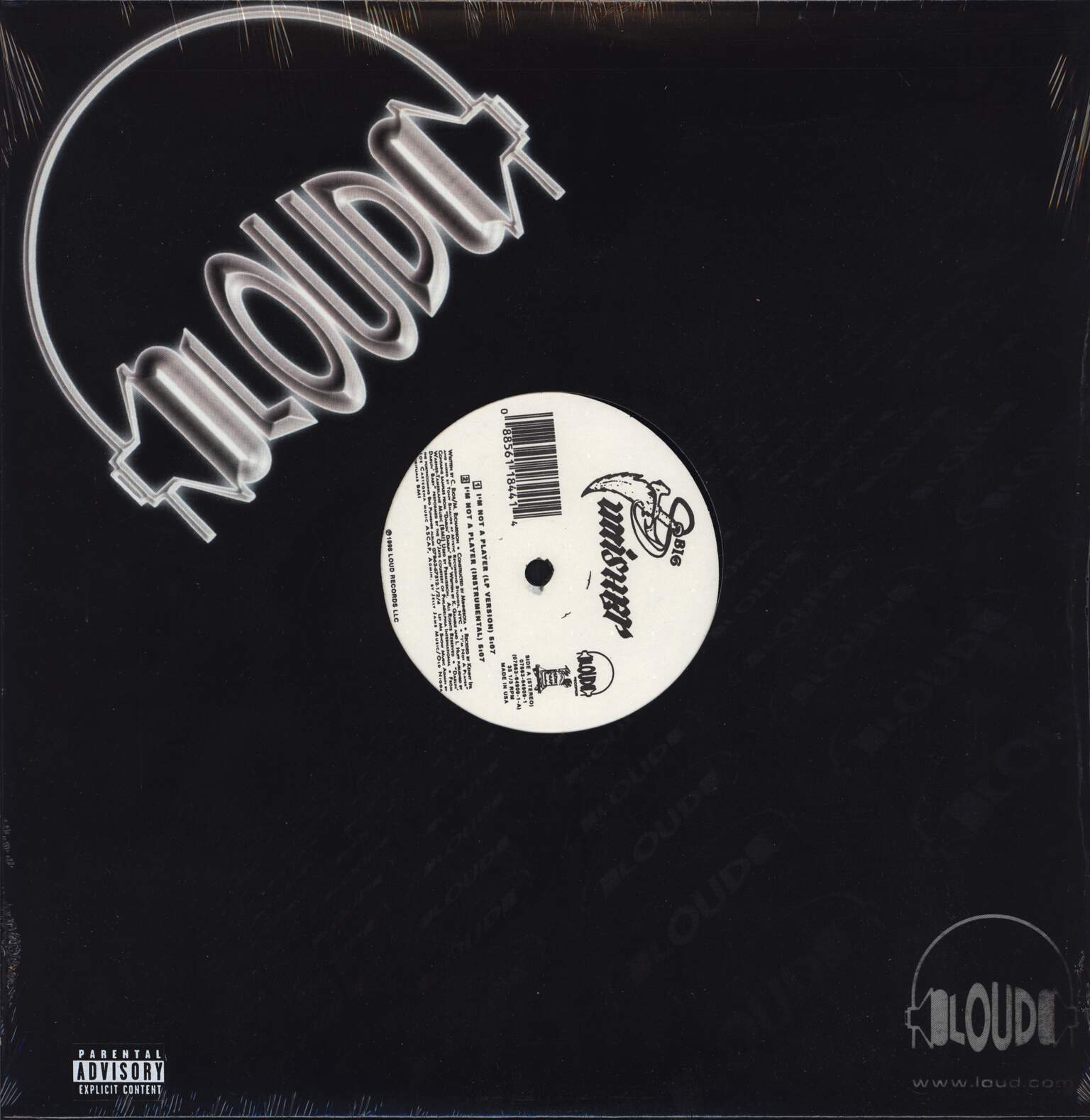 "Big Punisher: I'm Not A Player, 12"" Maxi Single (Vinyl)"