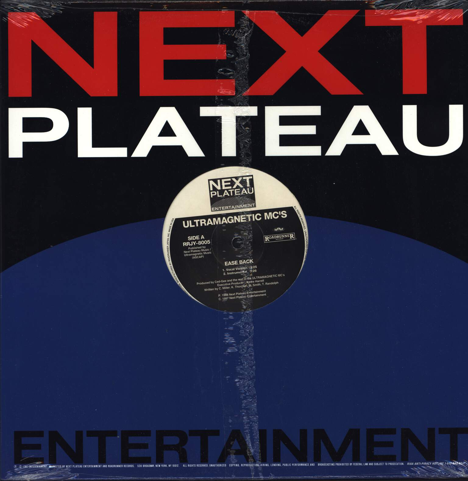 "Ultramagnetic Mc's: Ease Back / Kool Keith Housing Things, 12"" Maxi Single (Vinyl)"