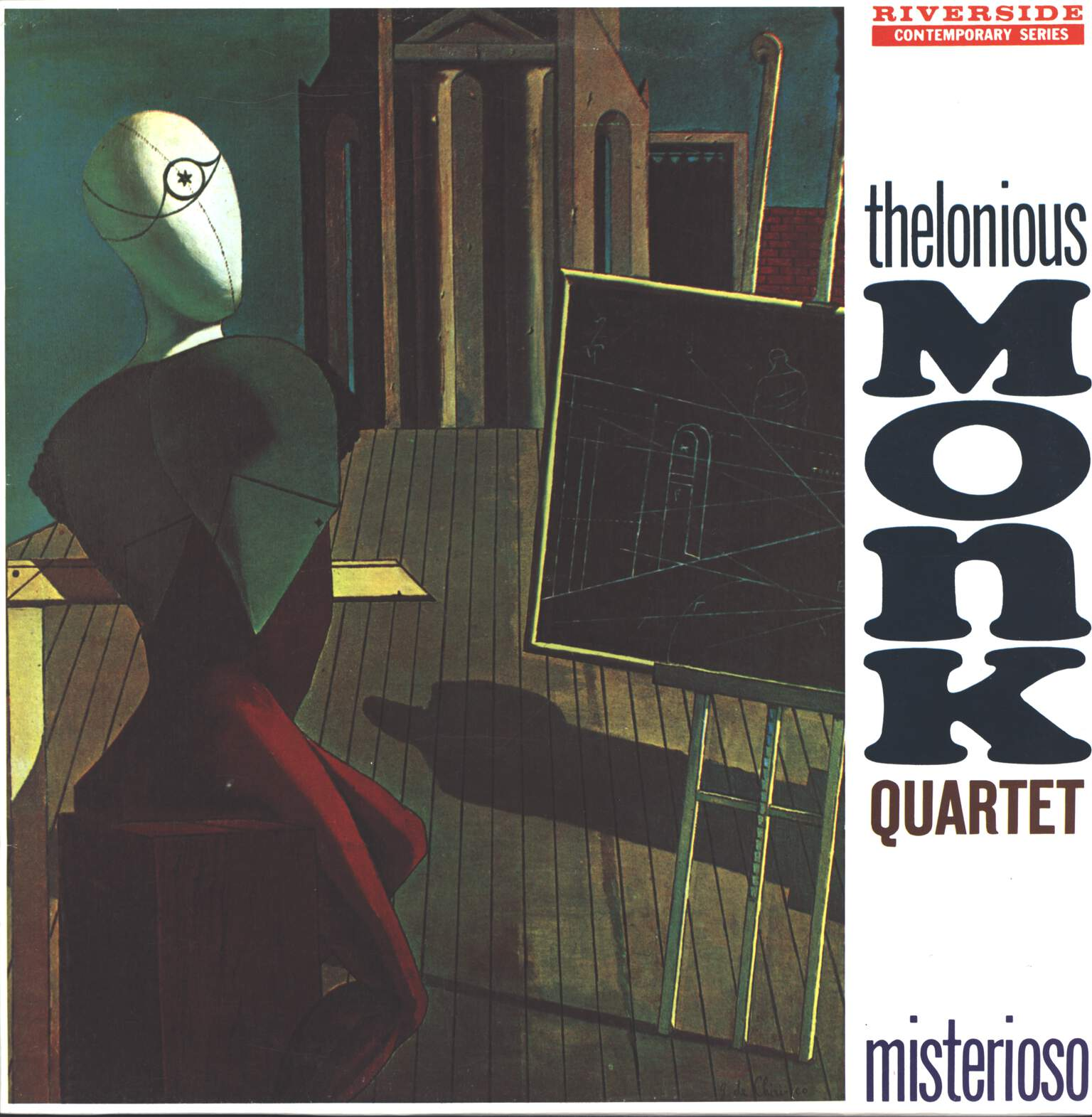 The Thelonious Monk Quartet: Misterioso, LP (Vinyl)
