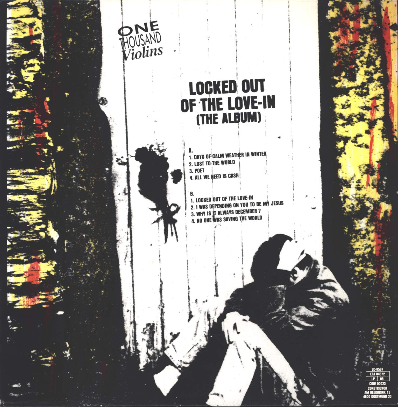 One Thousand Violins: Locked Out Of The Love-In, LP (Vinyl)