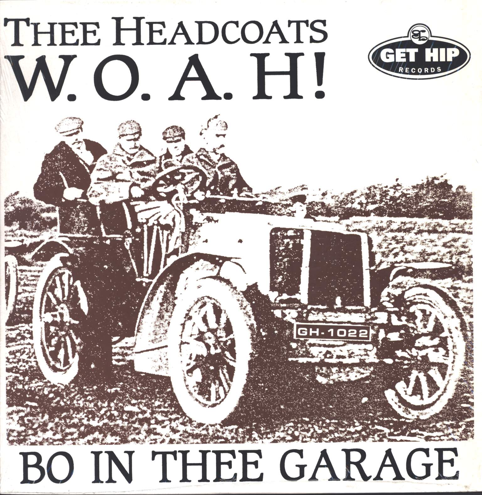 Thee Headcoats: W.O.A.H! - Bo In Thee Garage, LP (Vinyl)