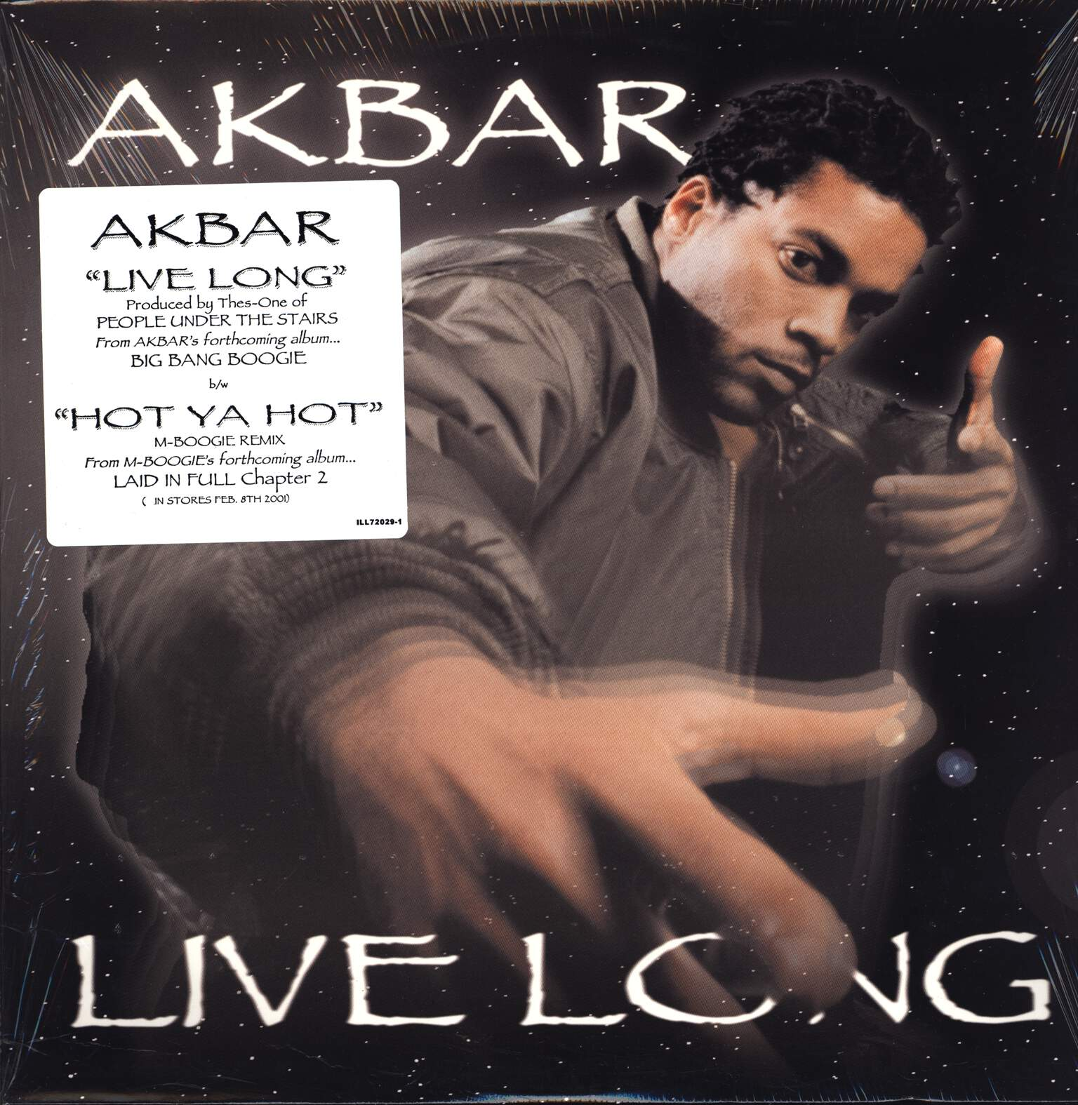 "Akbar: Live Long, 12"" Maxi Single (Vinyl)"